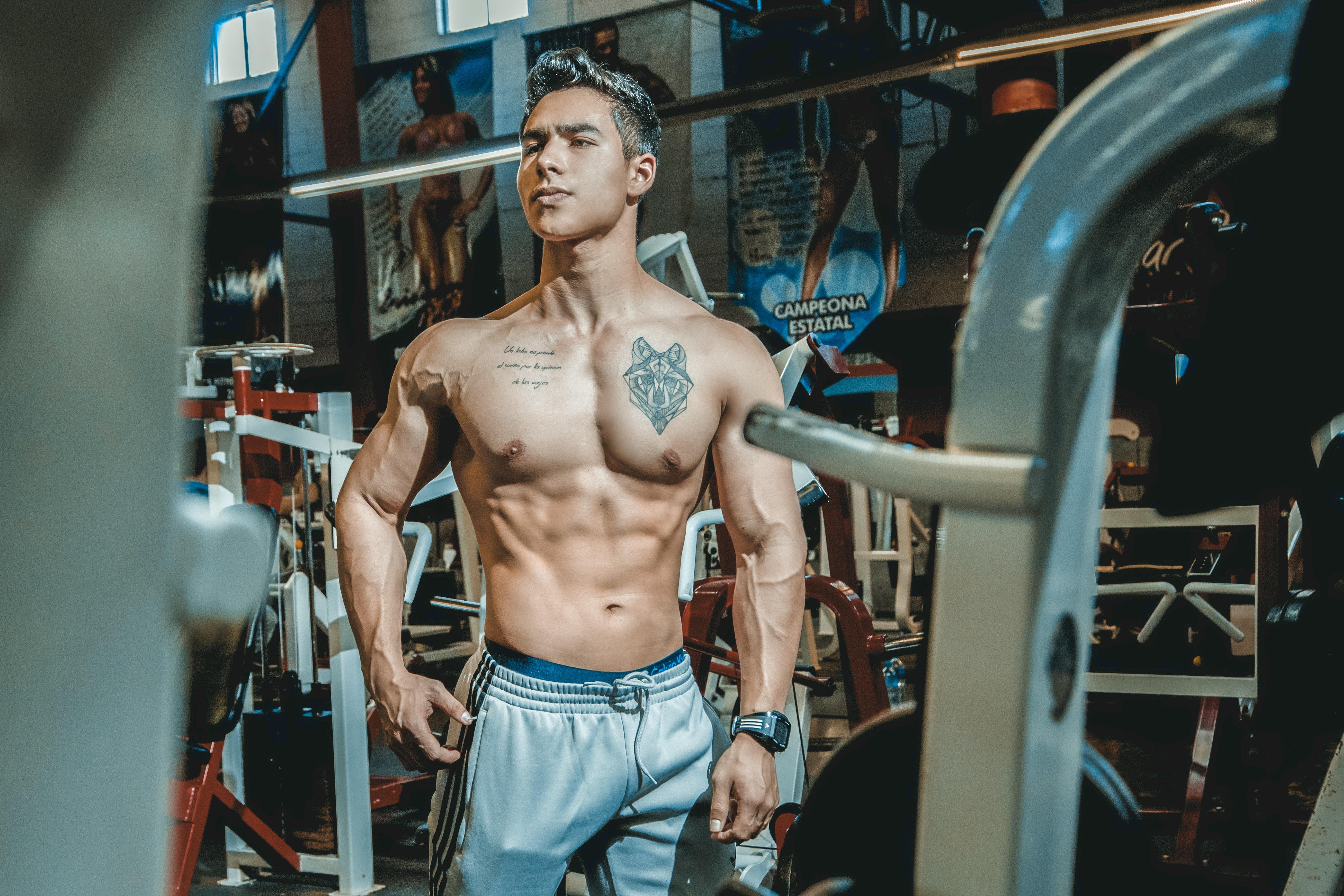 Darmowe Zdjęcia Kulturystyka Zdatność Model Fitness