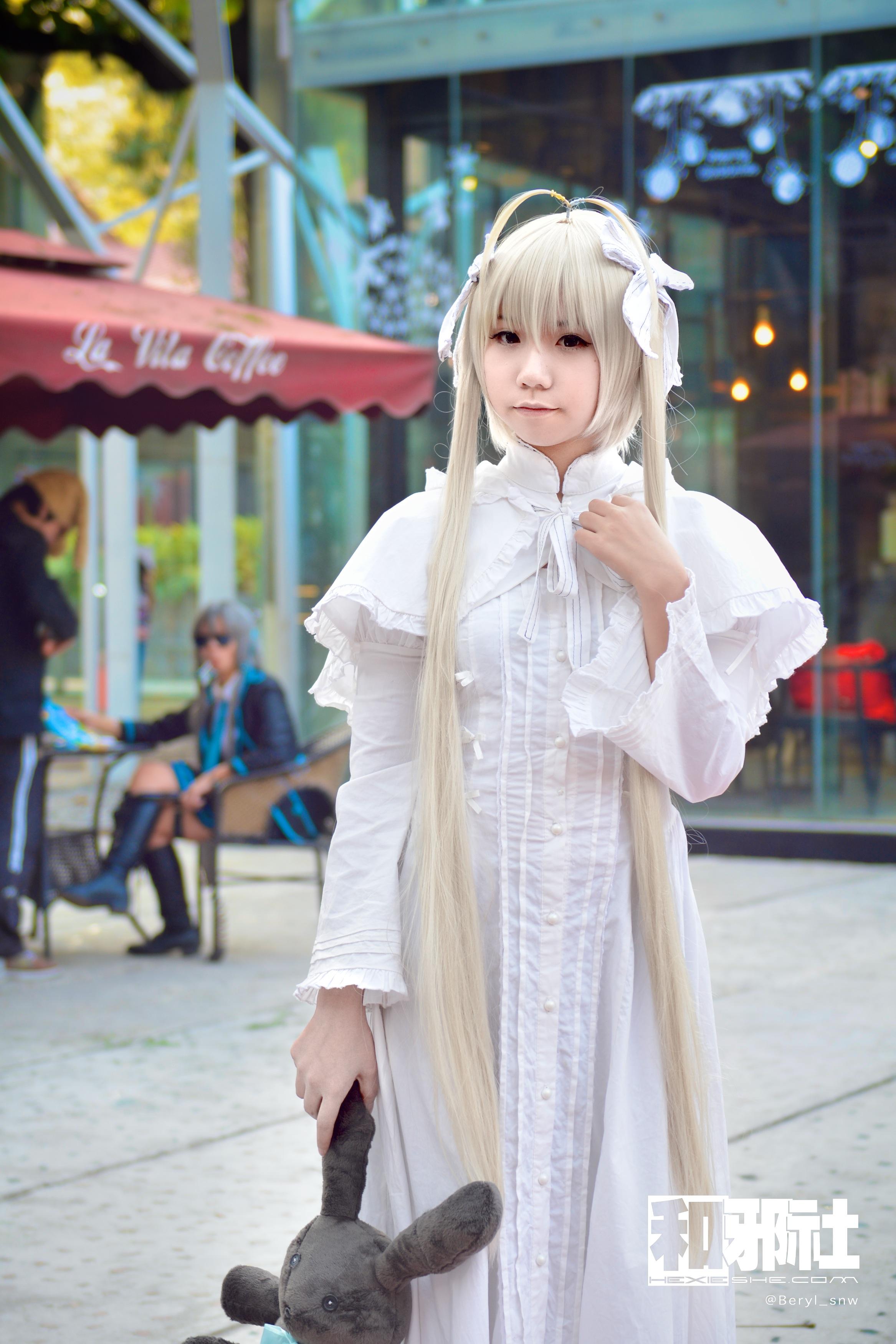 Bokeh Gadis Bermain Imut Asia Nikon Pakaian Di Luar Rumah Cosplay Gambar Keren Jepang Wilayah F28