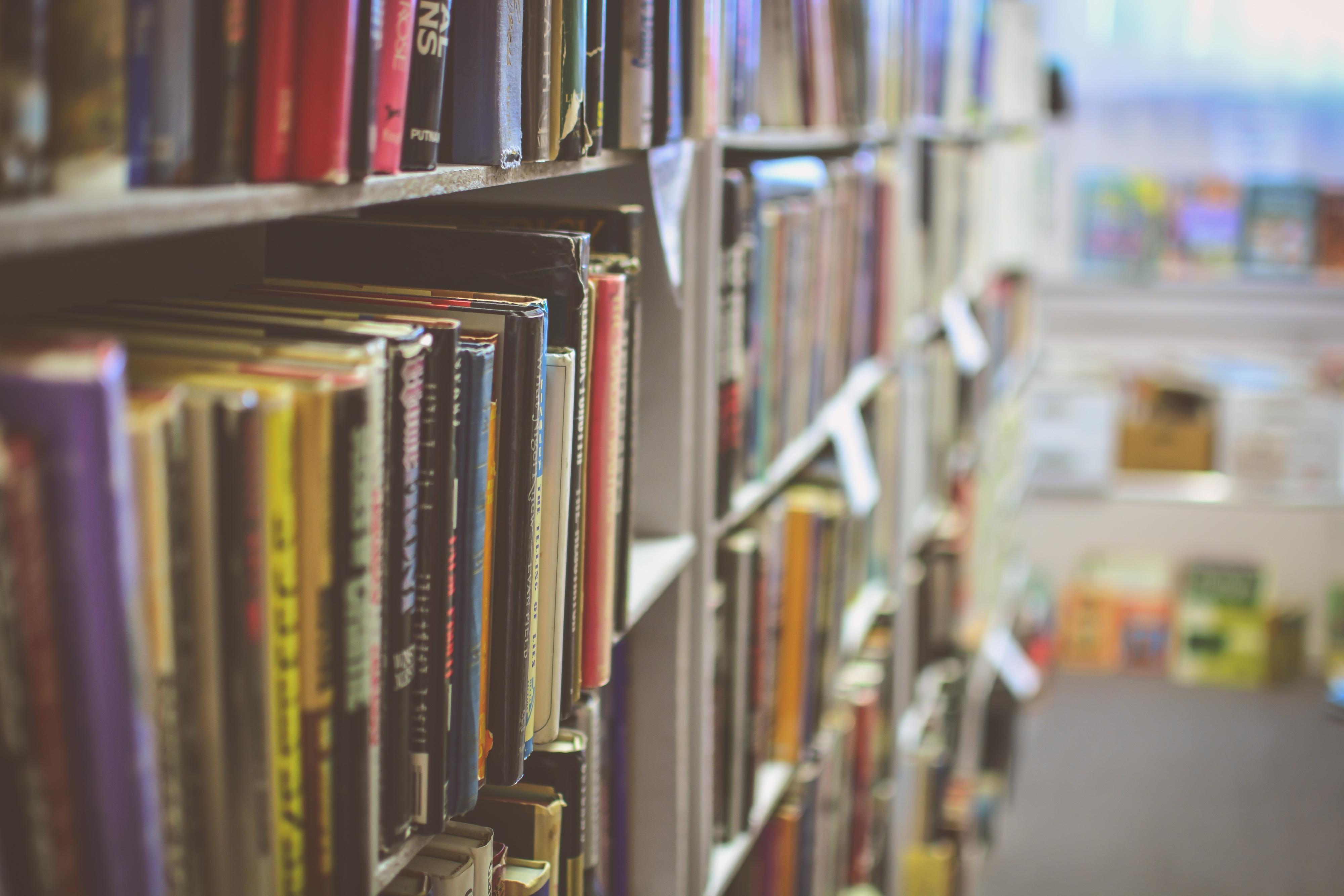кто фотографии книг и библиотек была