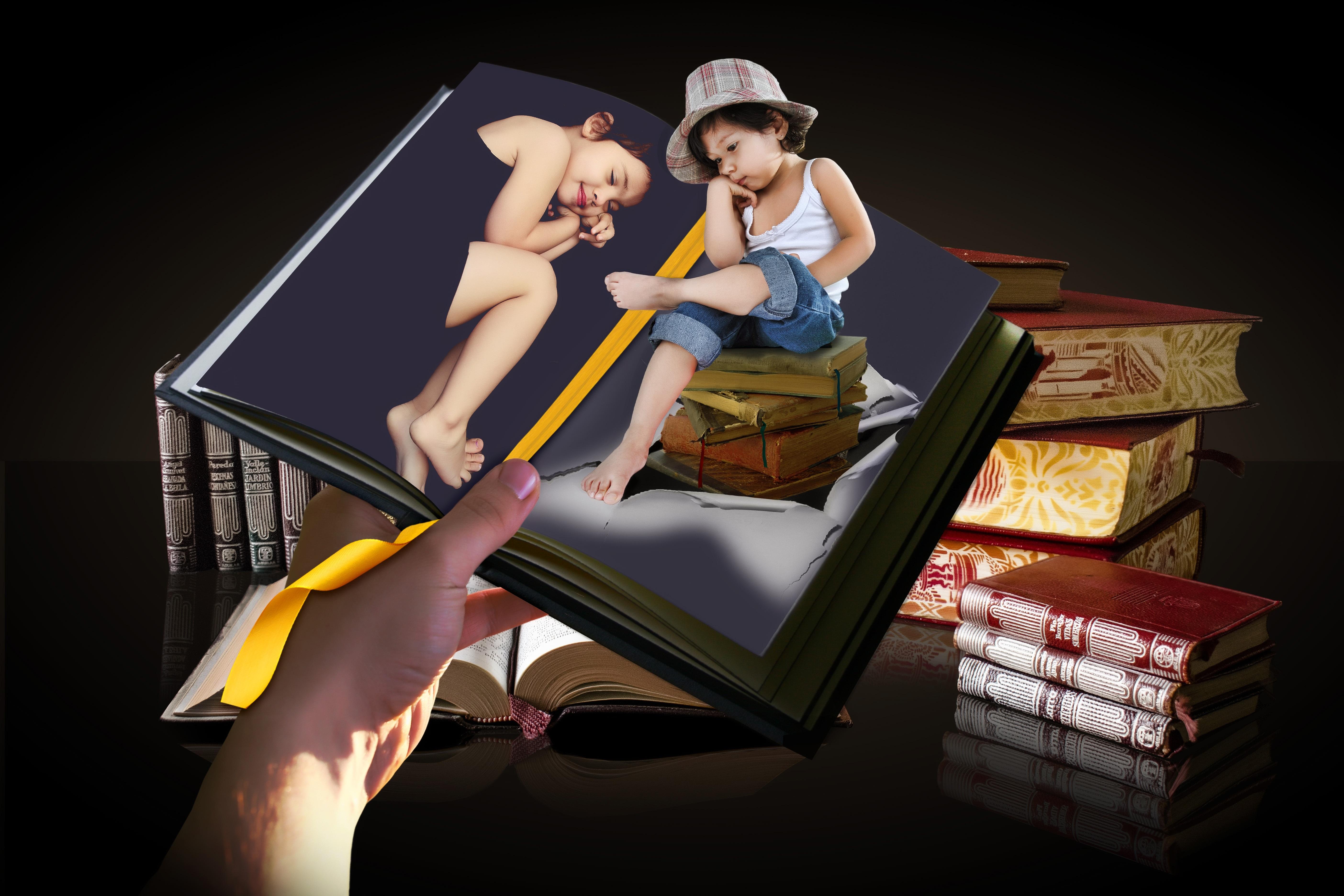 Gambar Book Anak Anak Ilustrasi Petunjuk Gambar Kartun