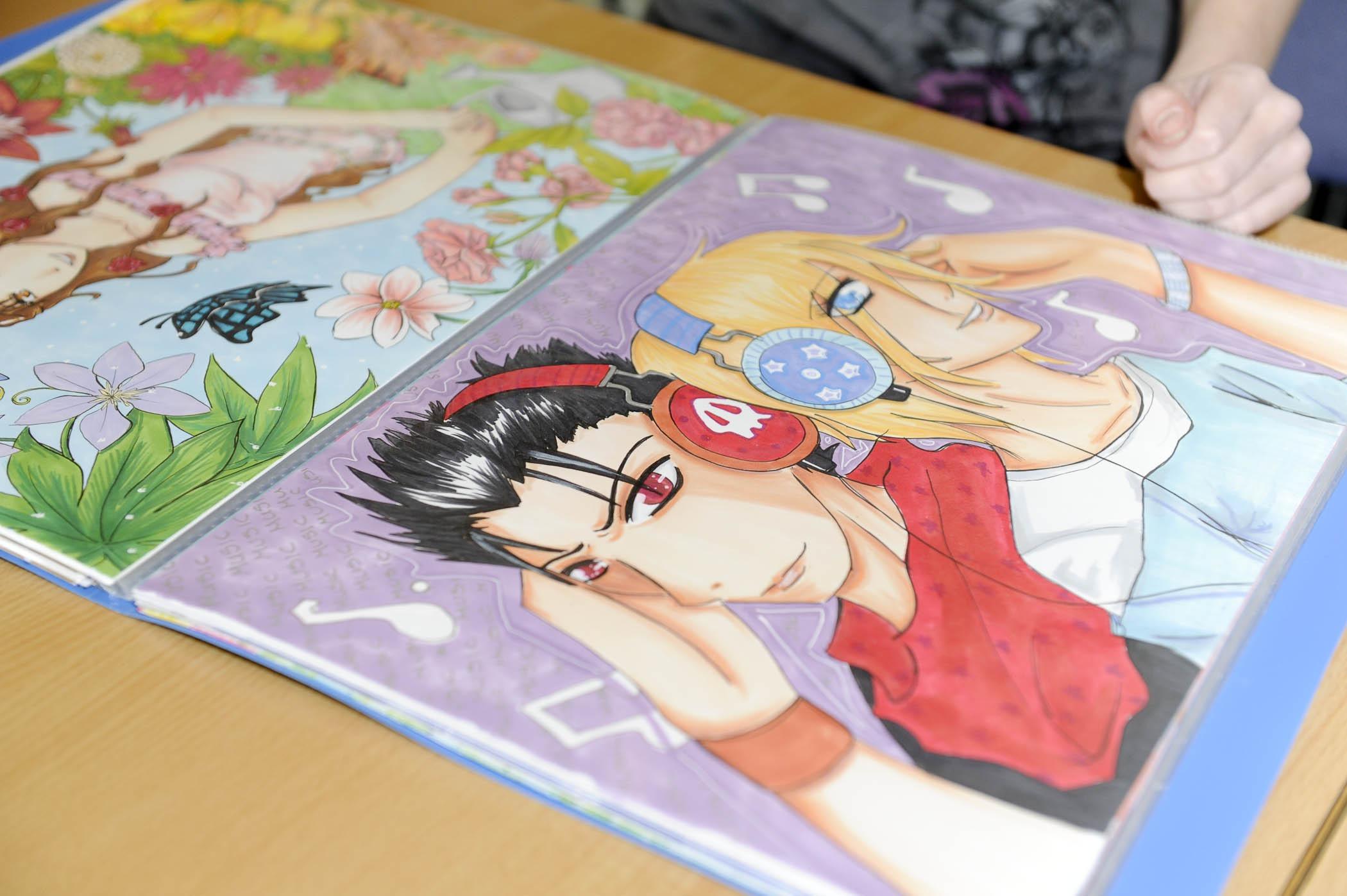 Скачать книги по рисованию по аниме