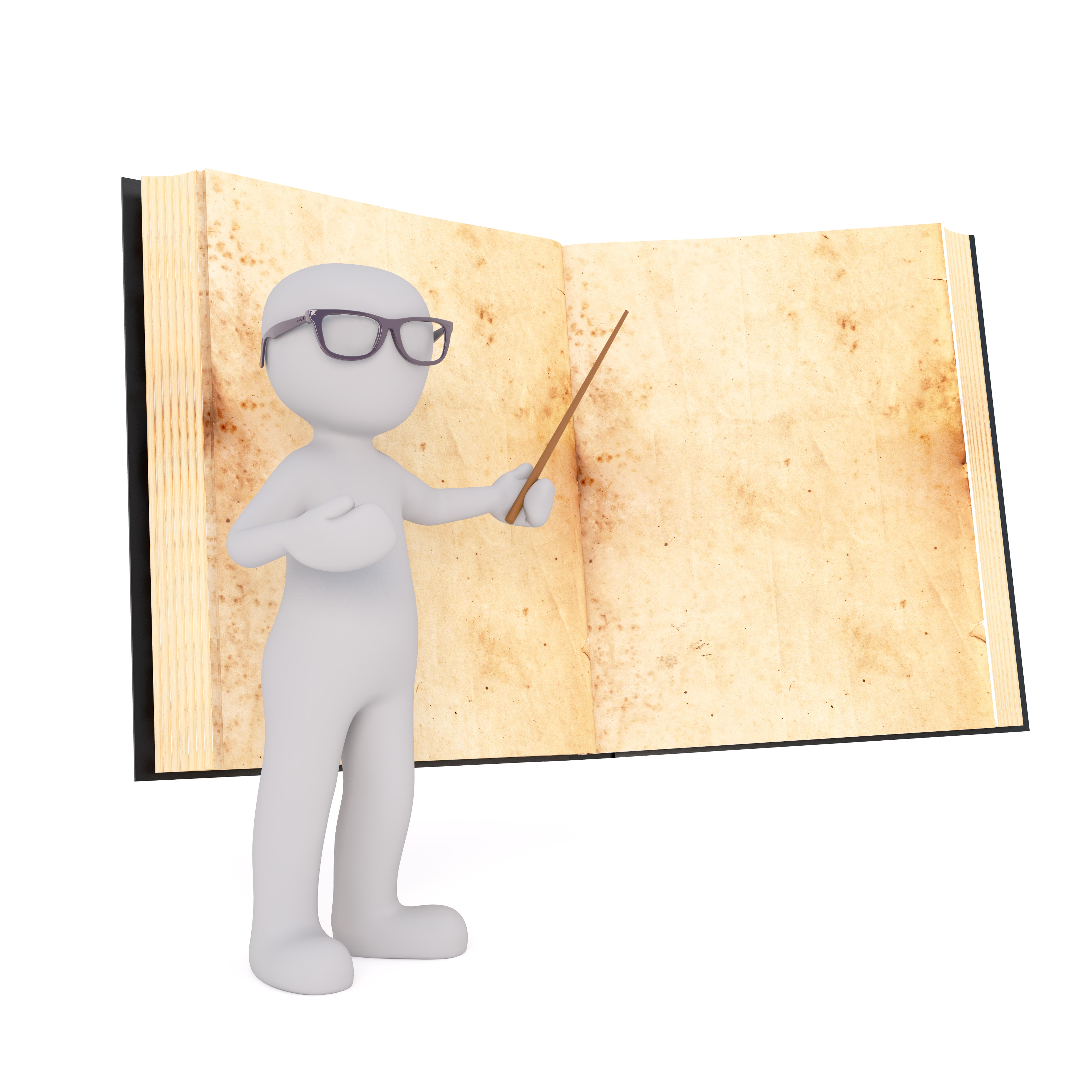 Gambar Book Terpencil Model Mebel Ilustrasi Guru Pengajaran