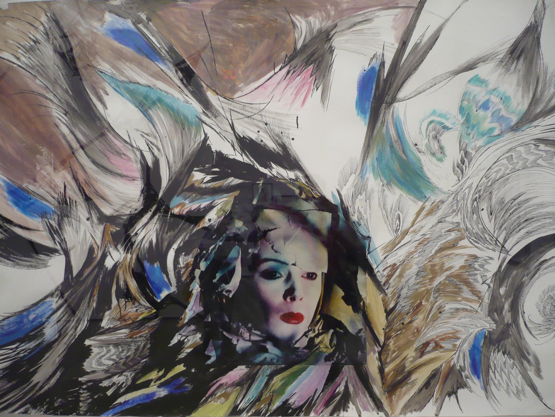 Gambar Kotak Lukisan Seni Warna Sketsa Gambar