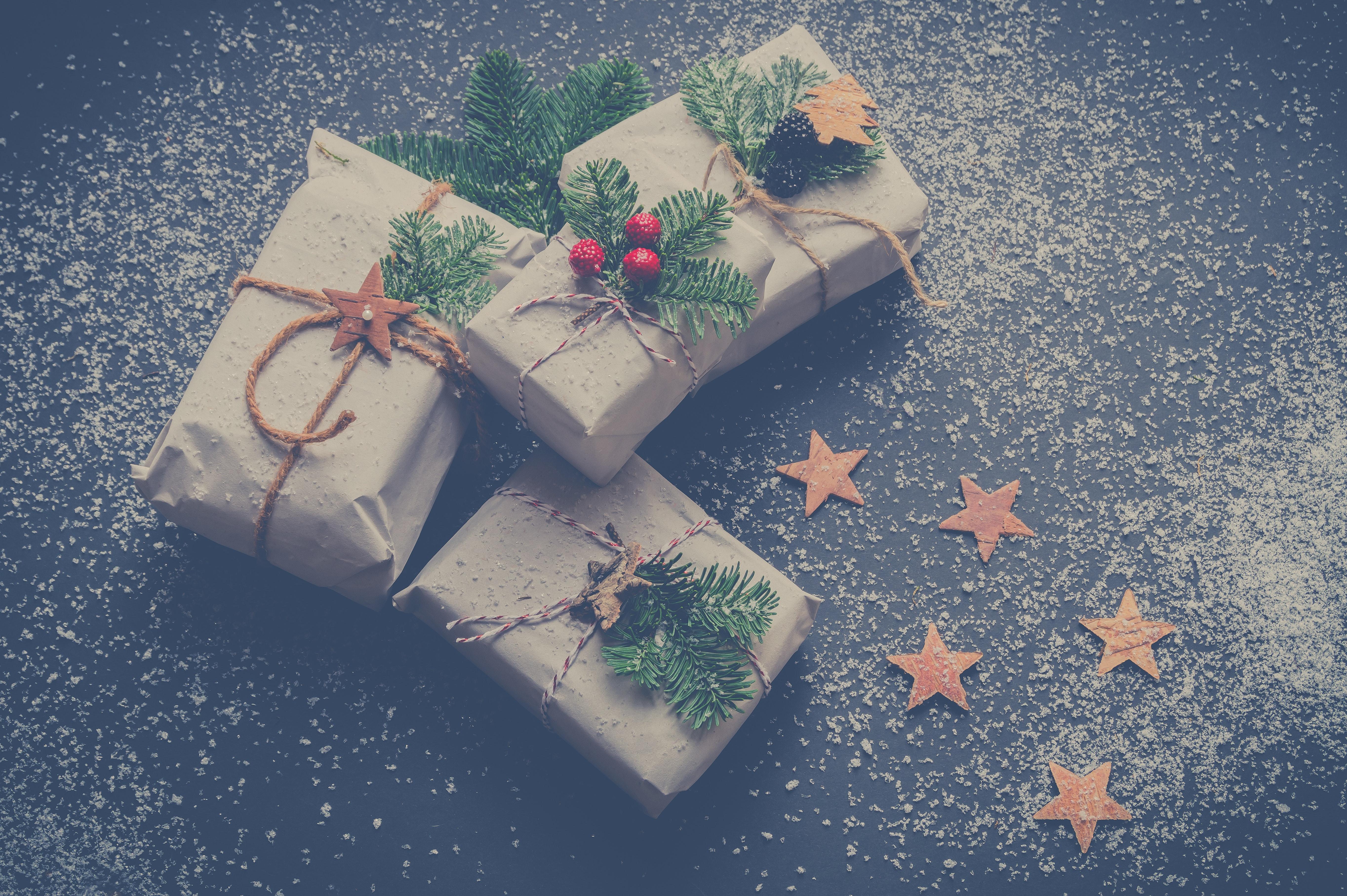 Scatole Per Regali Di Natale.Immagini Belle Scatole Regali Di Natale Regalo Di Natale