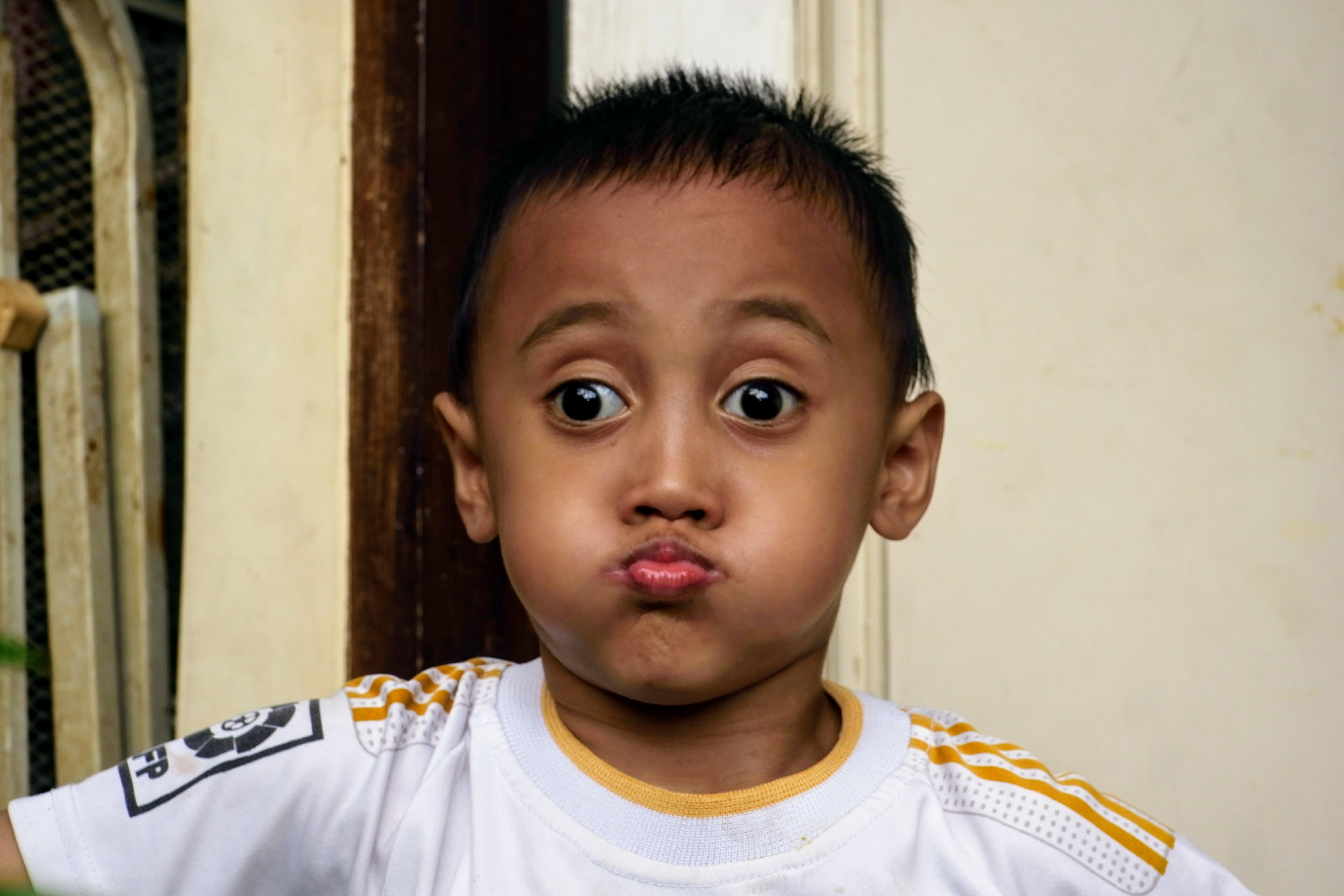 Kostenlose Foto Junge Gesicht Kind Person Haut Nase