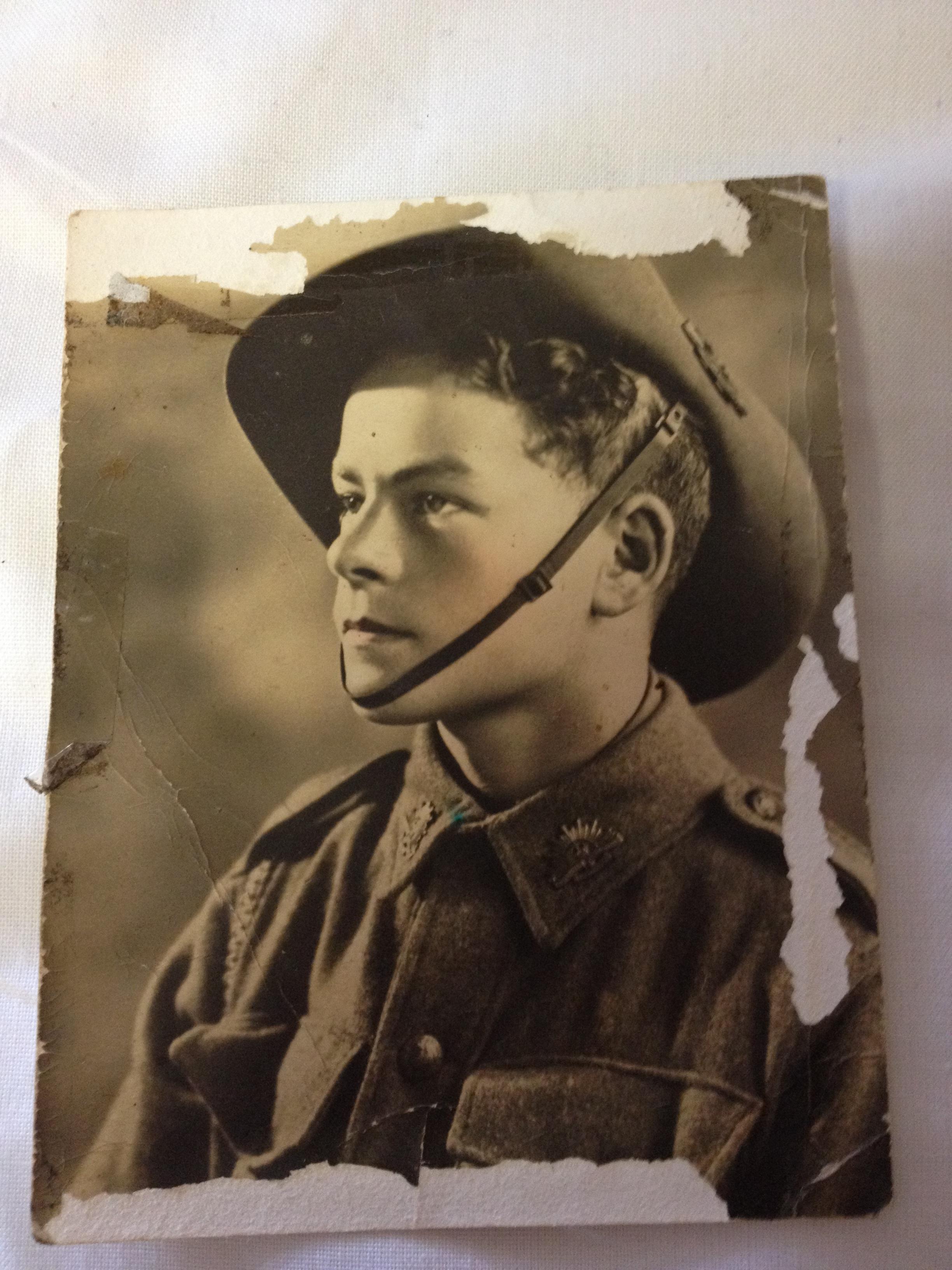 Gambar Anak Laki Laki Anak Potret Muda Tentara