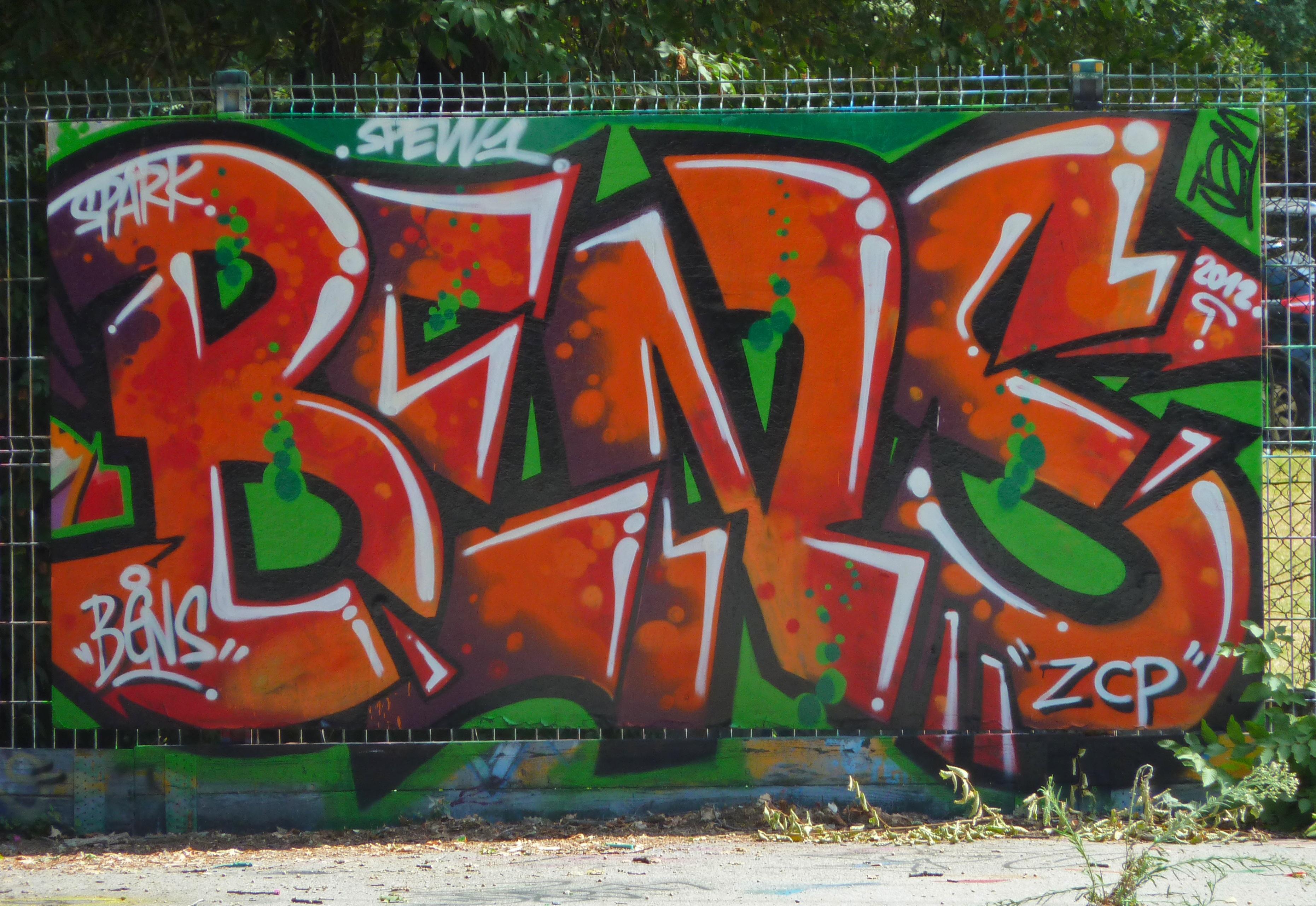 Boy paint colorful graffiti art vandalism mural vandal