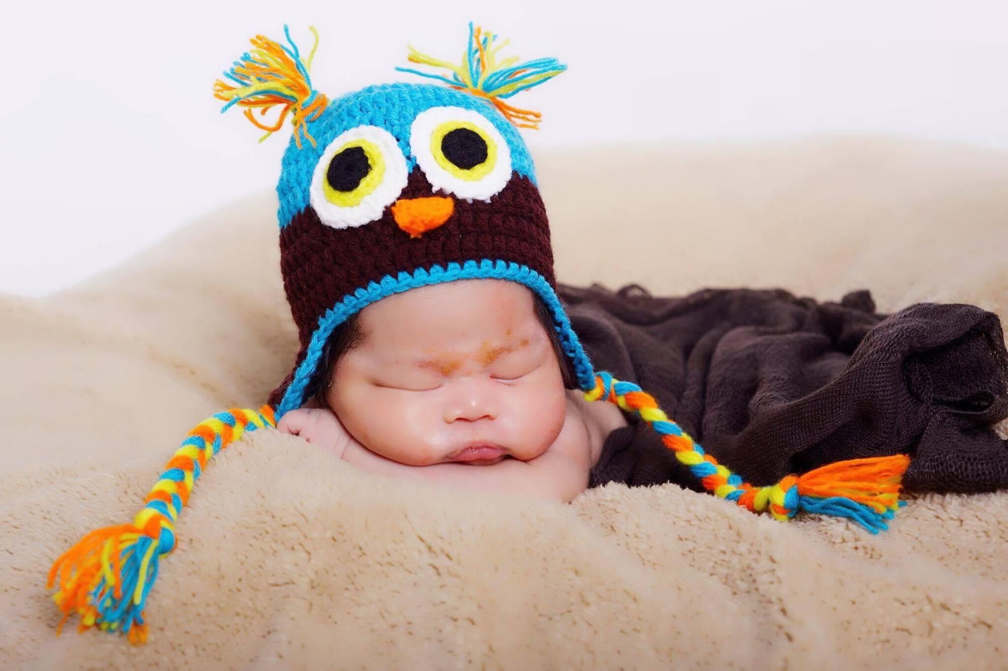 free images boy sleeping color child hat blue clothing owl