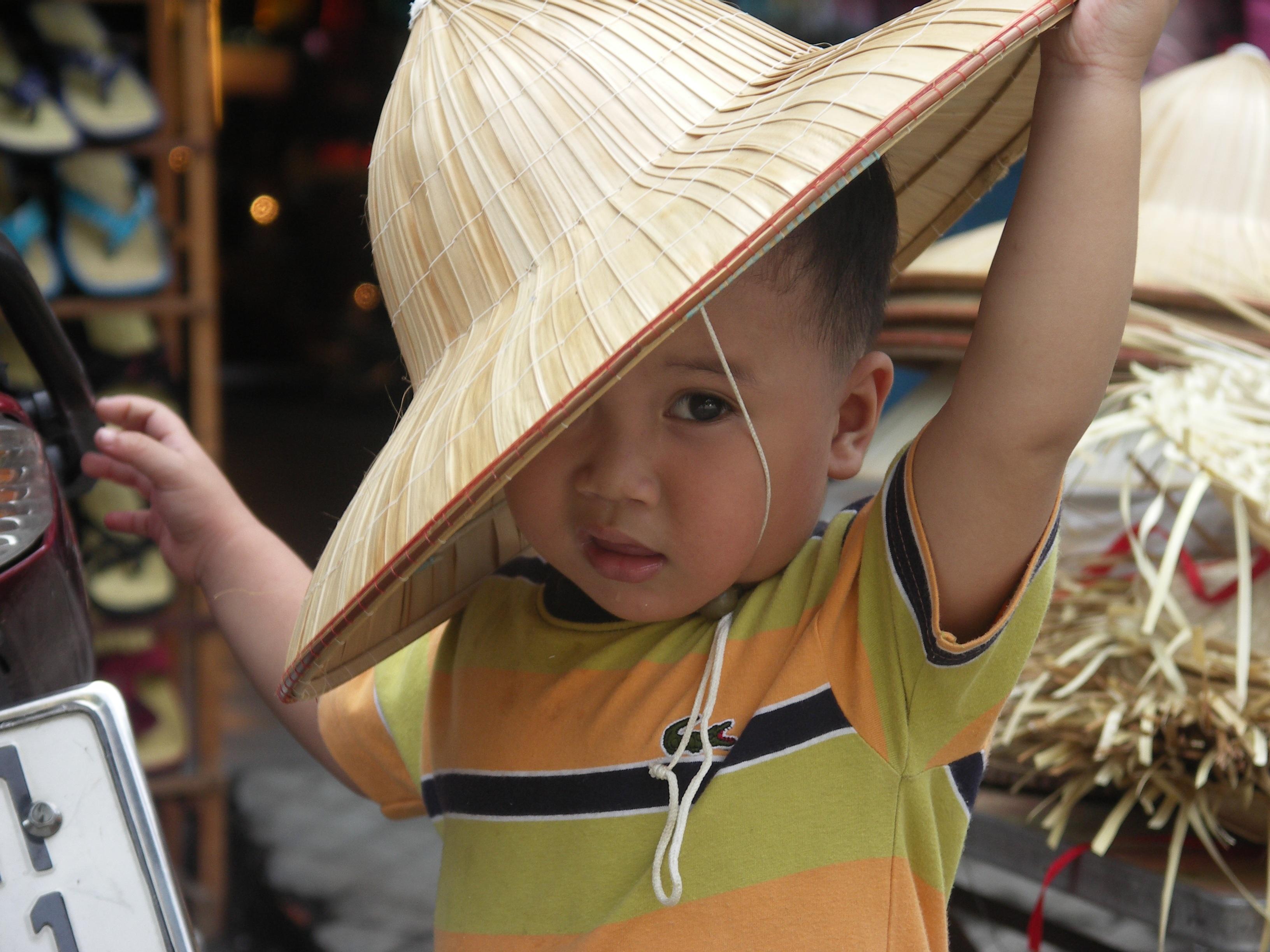 5b399e74a boy spring color child hat clothing festival little costume vietnam  traditionat