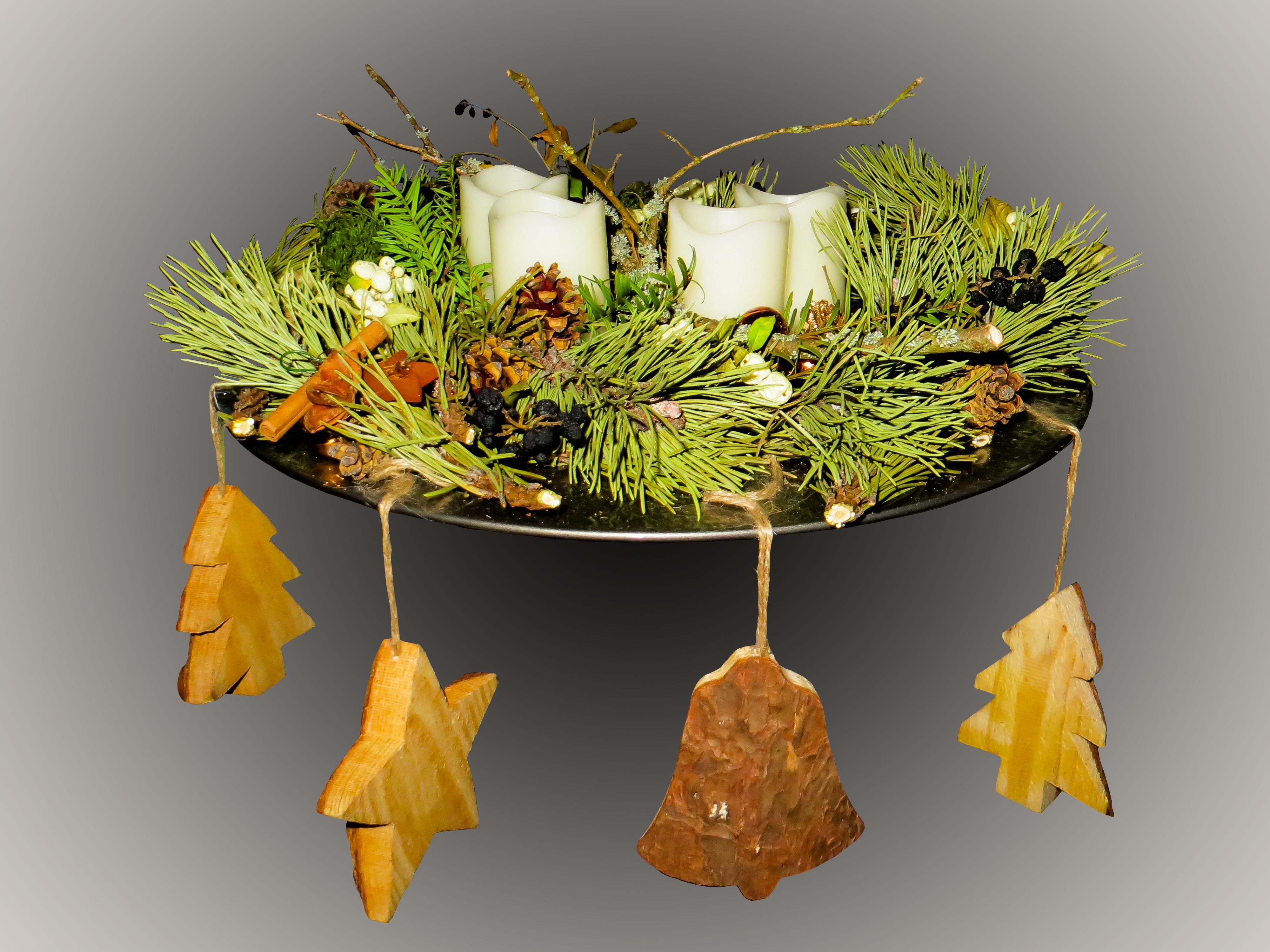 kostenlose foto ast pflanze blatt blume dekoration gelb kerze weihnachten anordnung. Black Bedroom Furniture Sets. Home Design Ideas