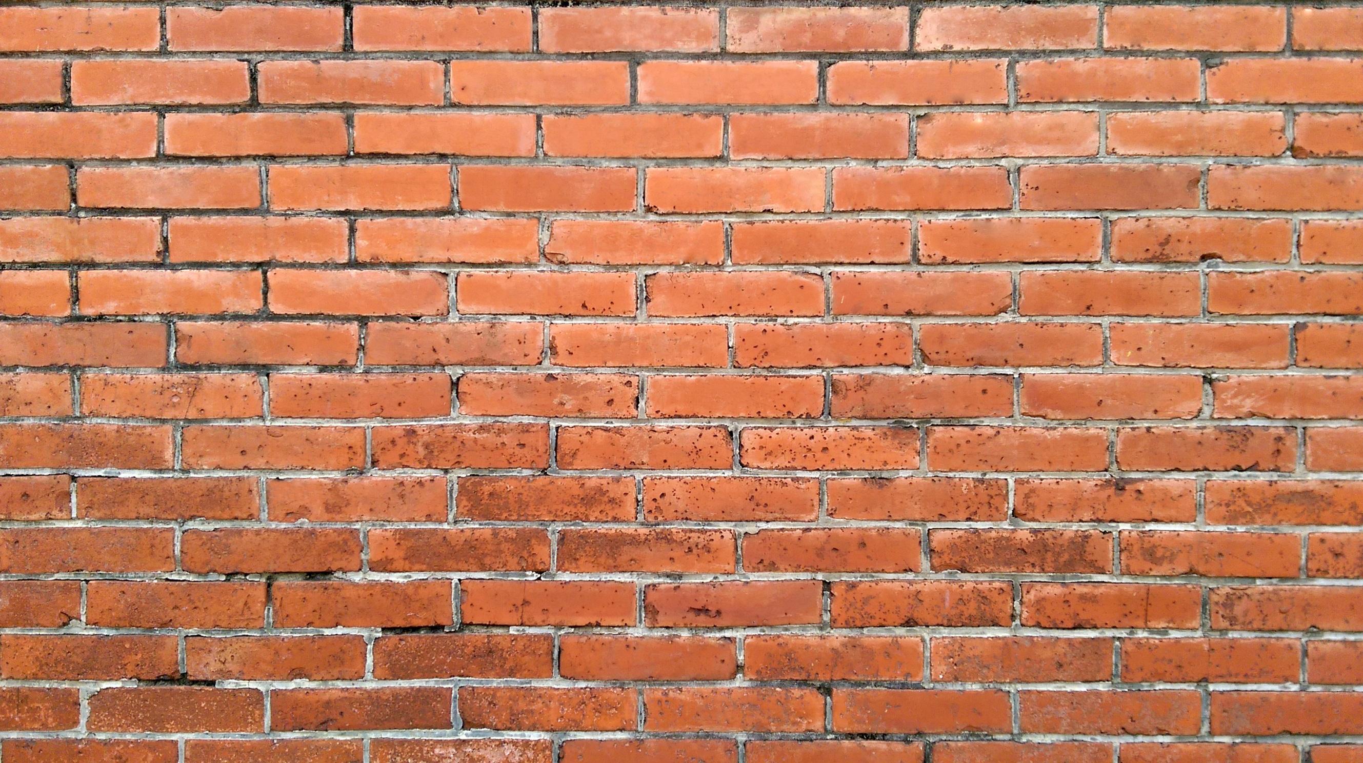 2658x1488 1369857 pxhere - Muros de ladrillo visto ...