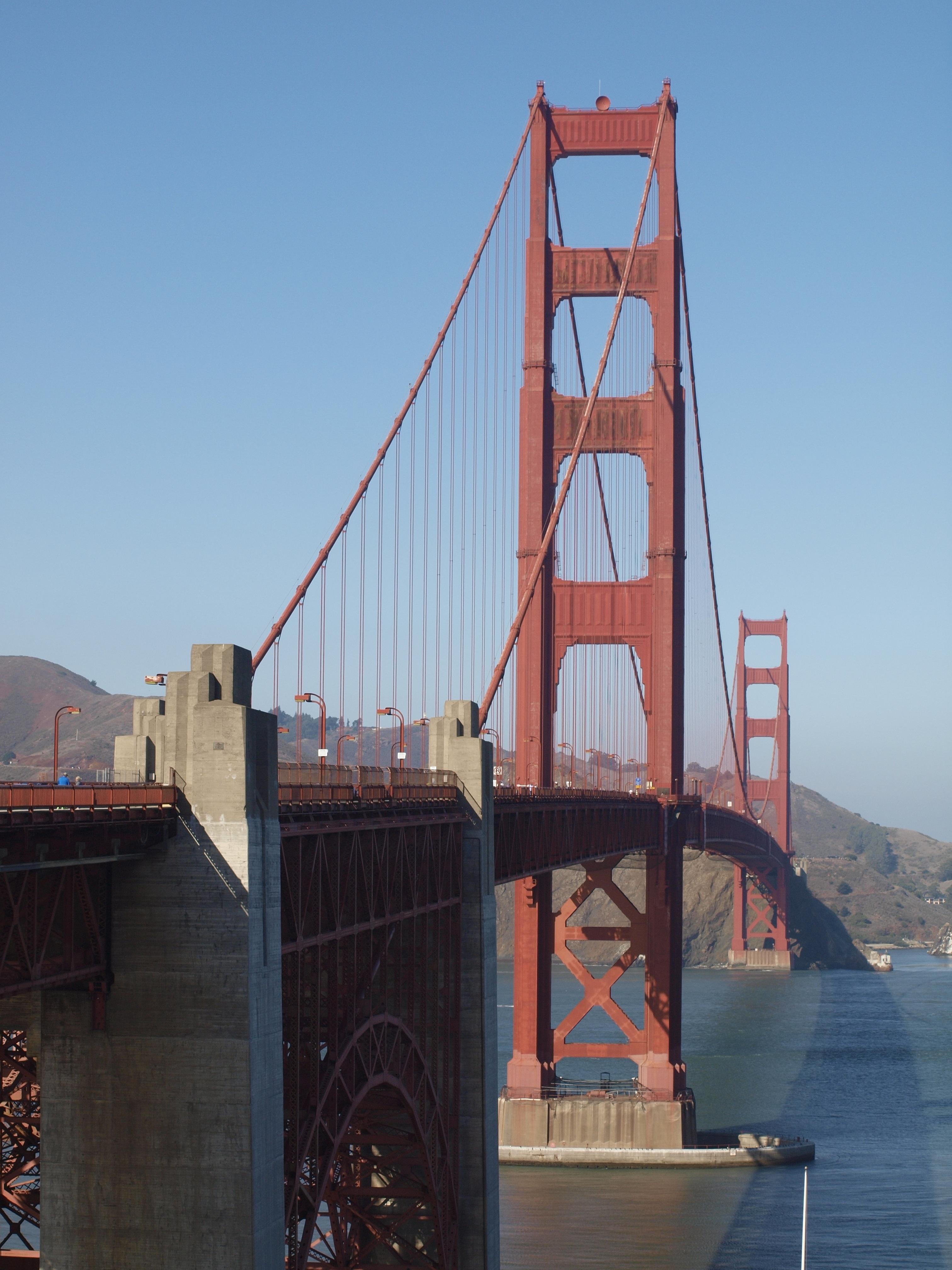 Free Images : golden gate bridge, san francisco, suspension bridge ...