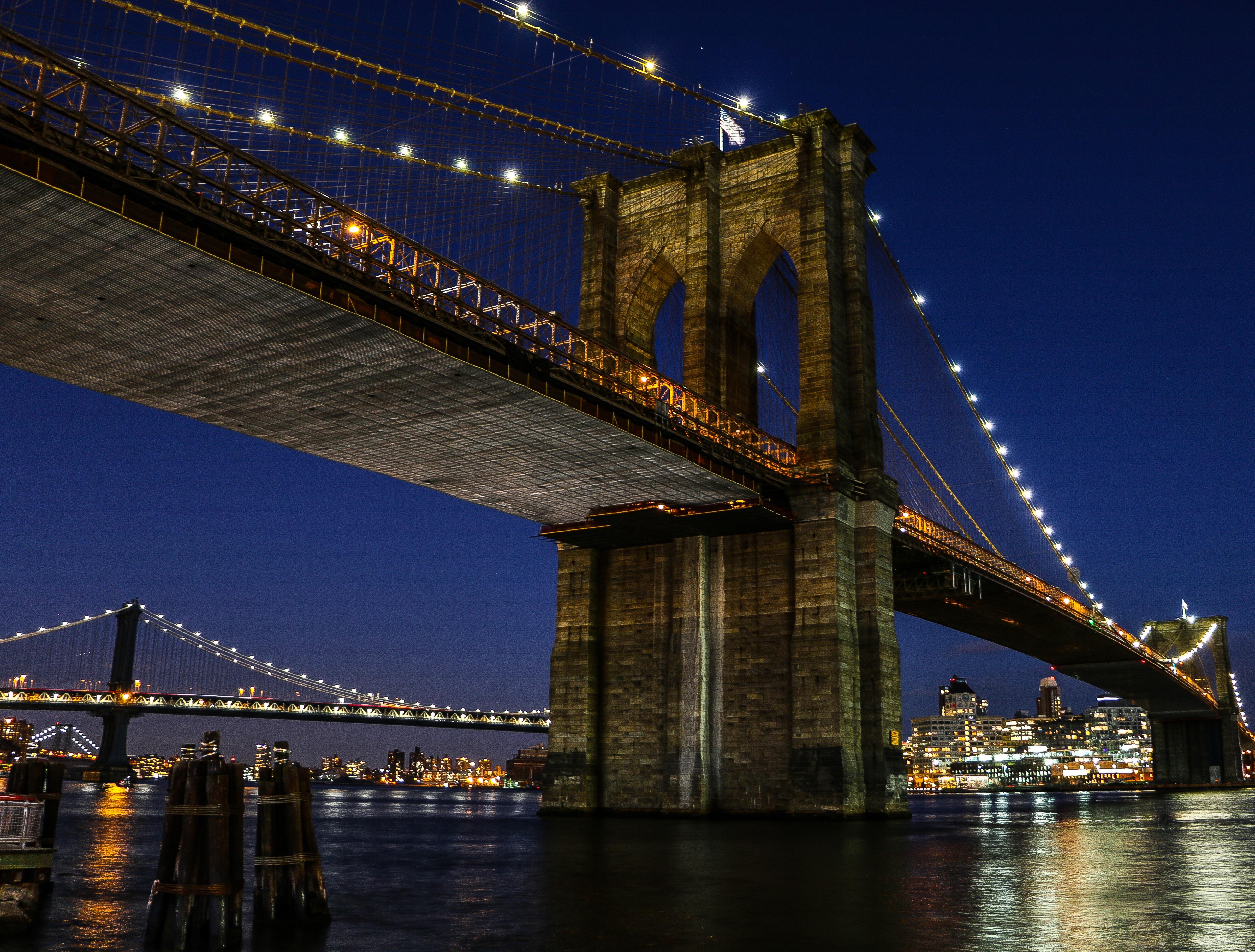 Вантовый мост город ночь бесплатно