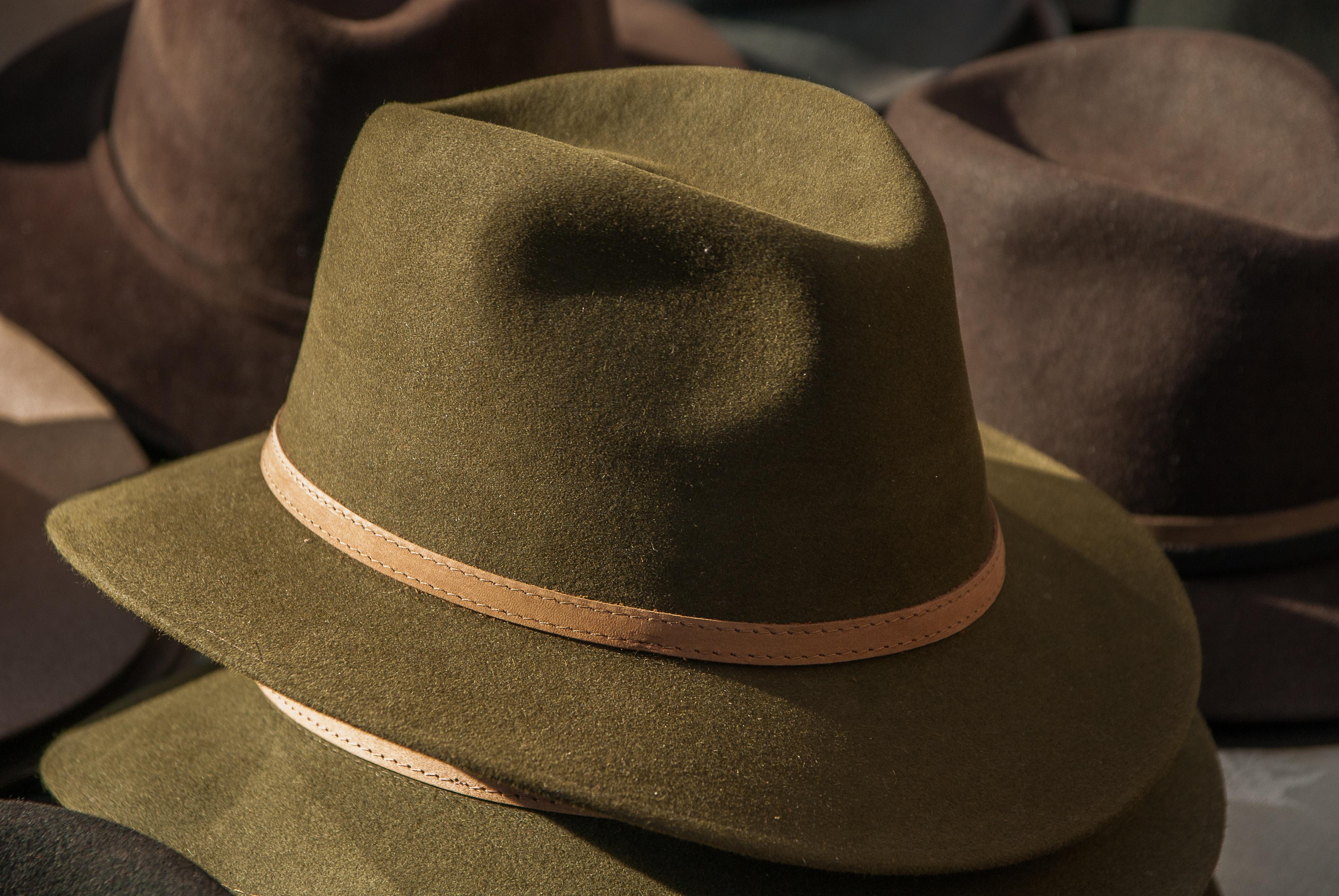 hnědý čepice oblečení pokrývka hlavy víčko fedora cítil kovbojský klobouk  pánské oblečení módní doplněk 9b75fc794d