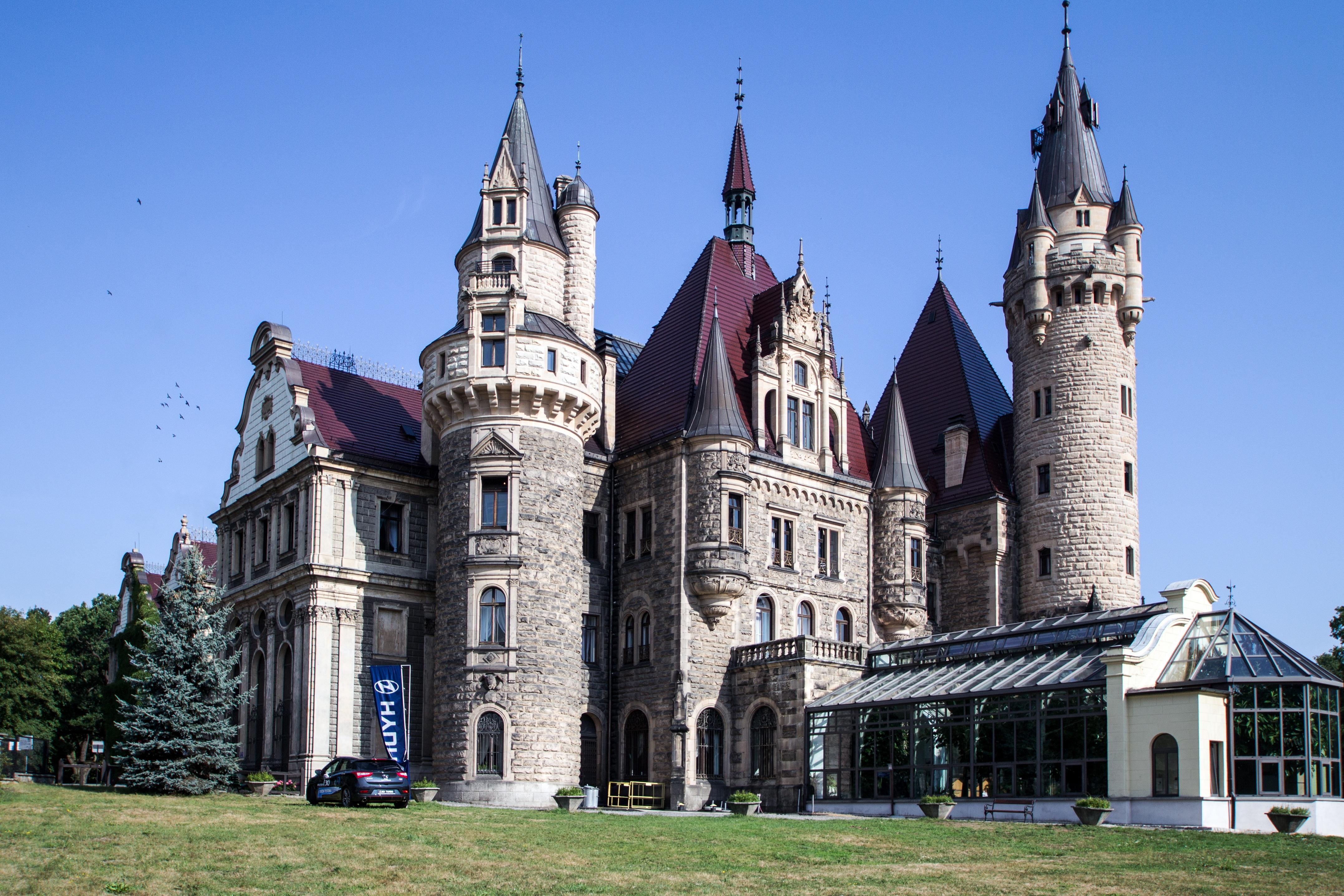 Фото замки готика