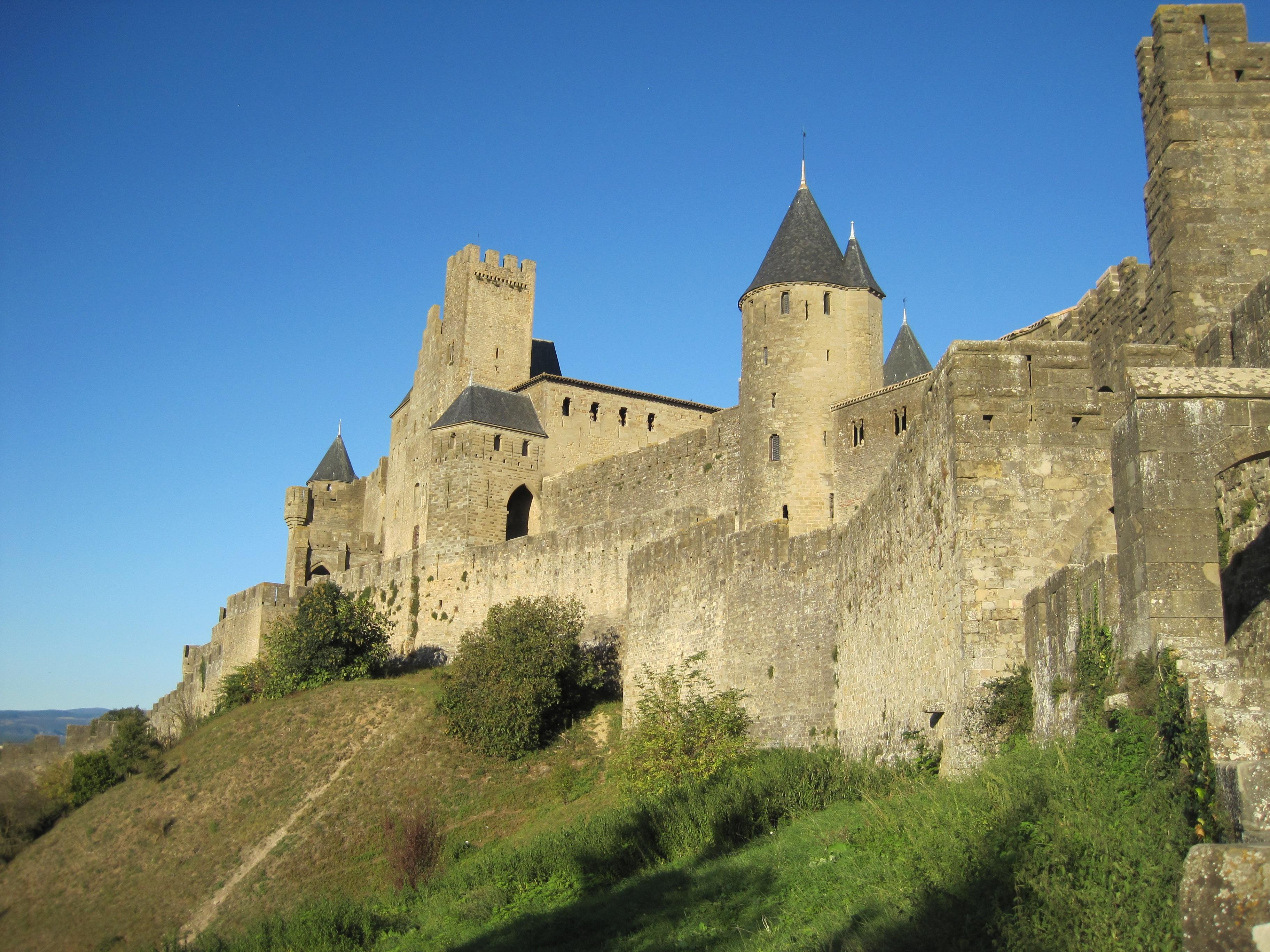 kostenlose foto geb228ude chateau stadt frankreich