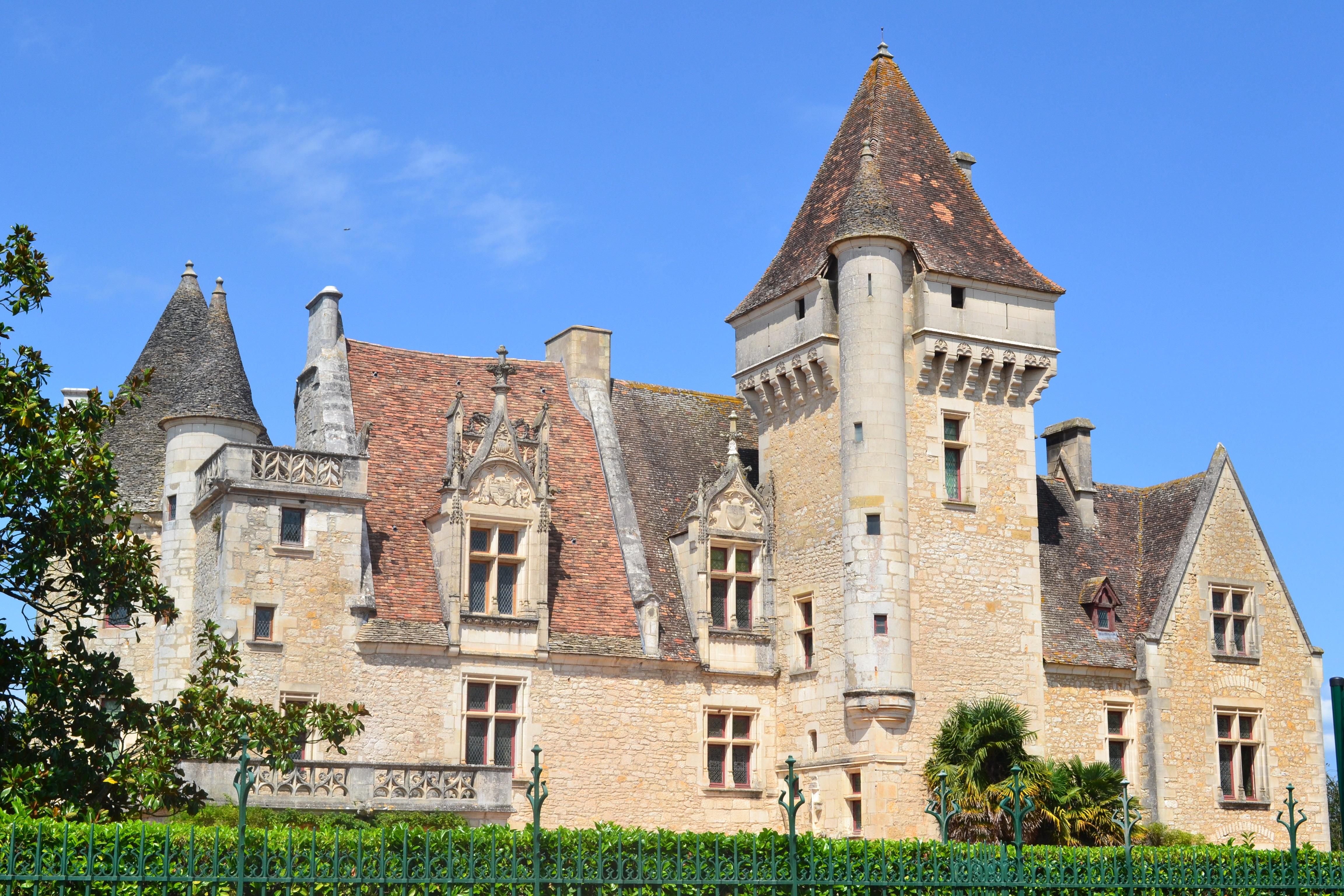 immagini belle costruzione chateau francia torre