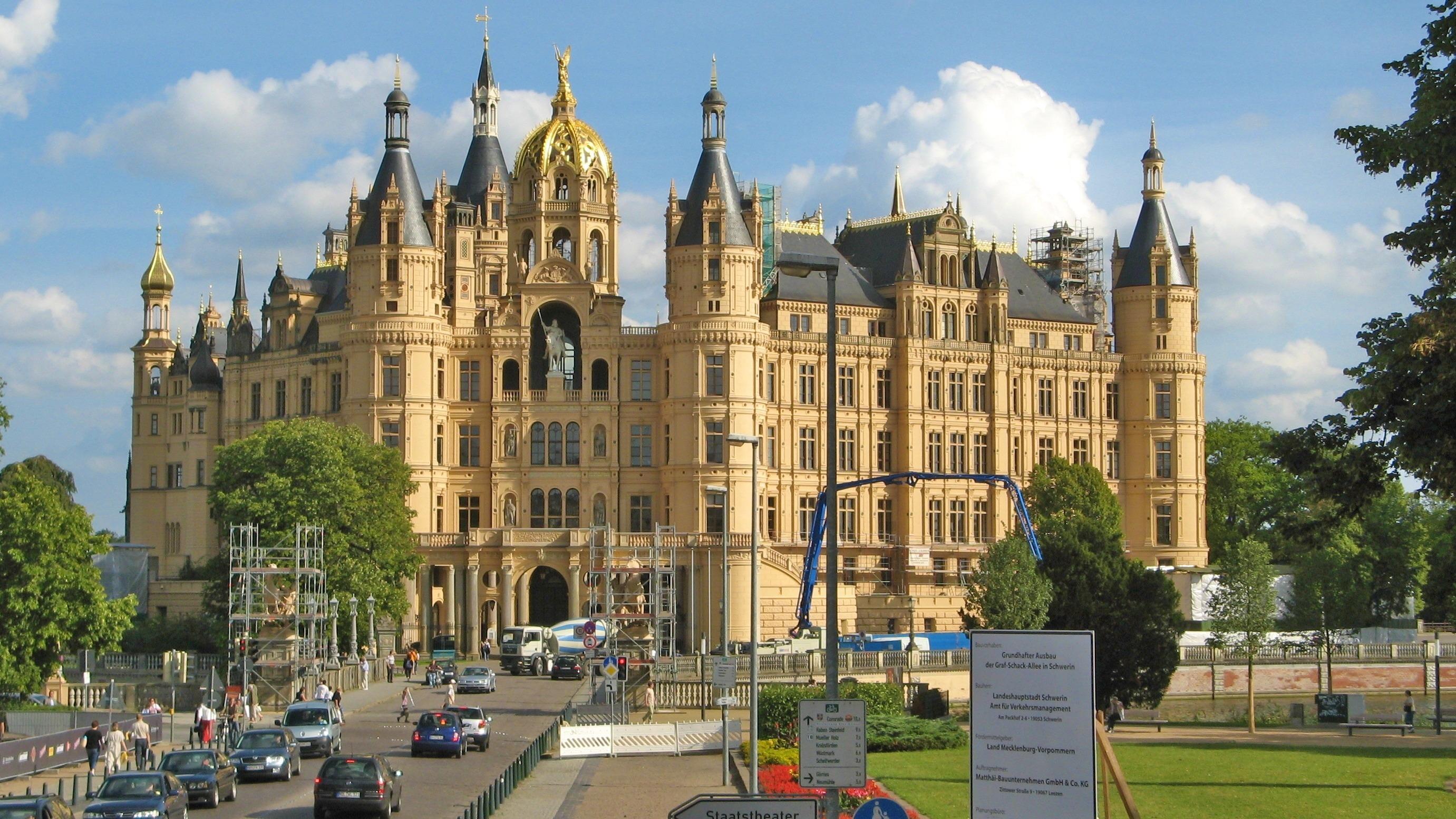 Immagini Belle Costruzione Chateau Palazzo Plaza