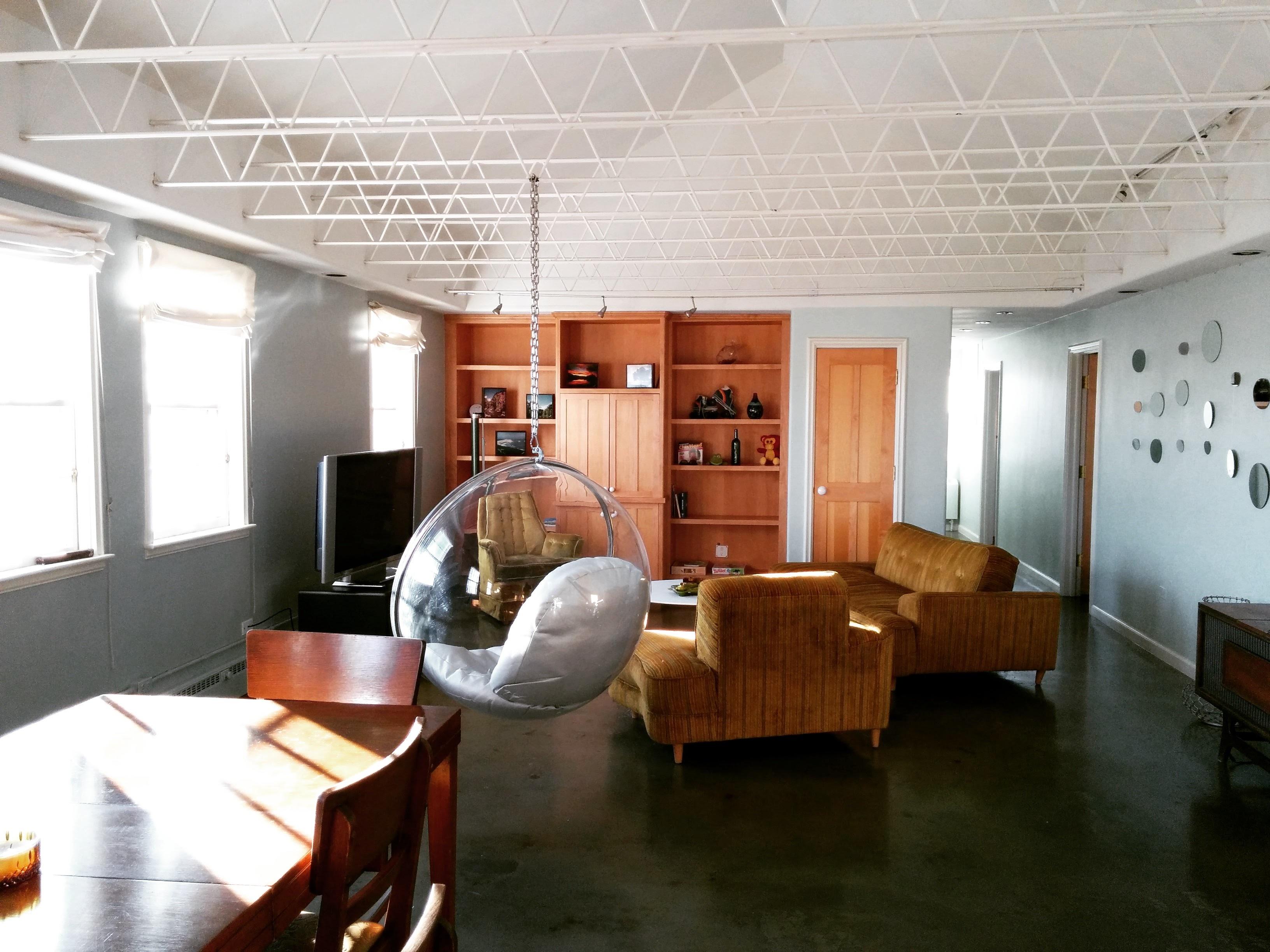 무료 이미지 : 건물, 집, 천장, 로프트, 사무실, 재산, 거실, 방 ...