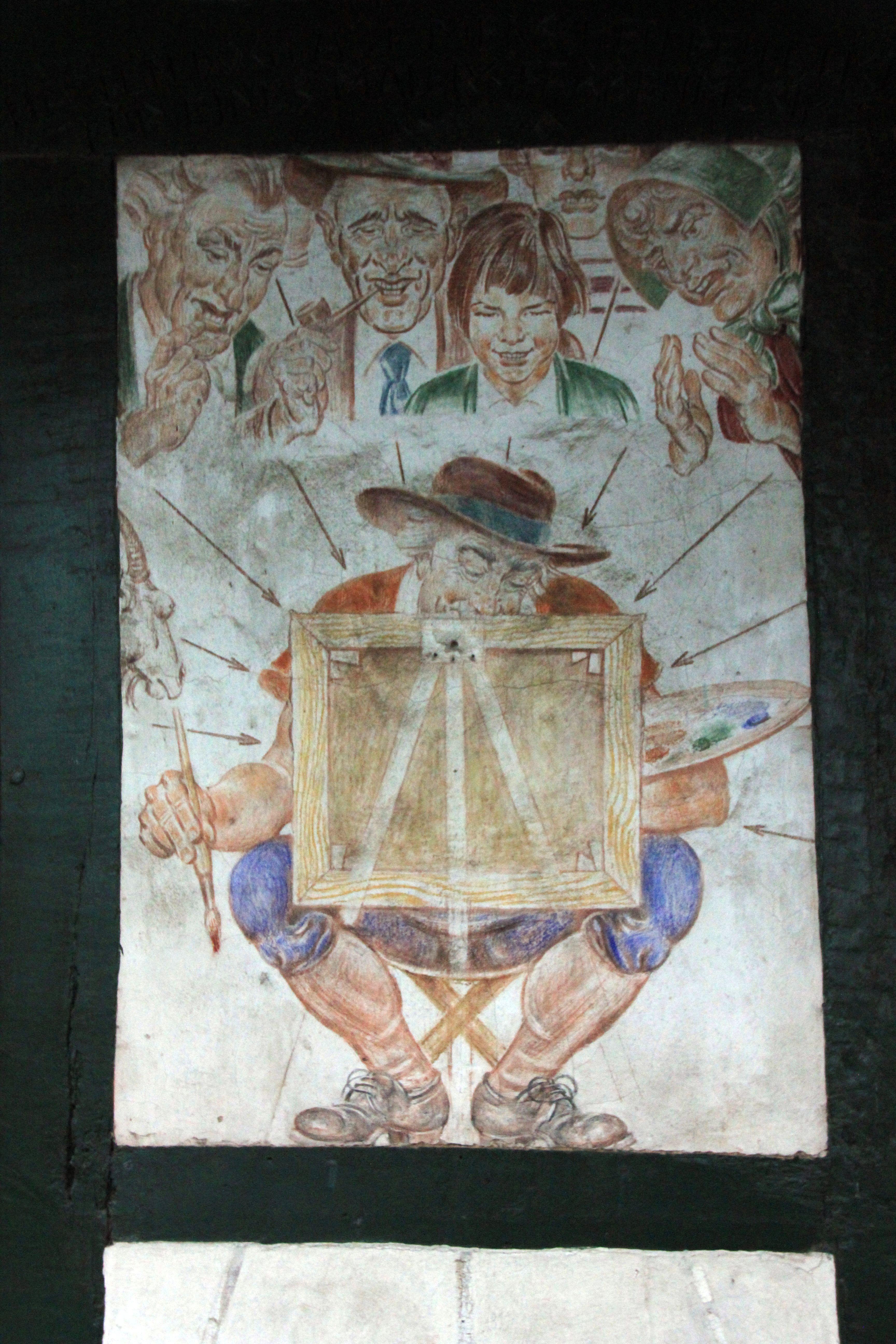 Images Gratuites Bâtiment Maison Peindre Ouvrages Dart La - Peindre sur ancienne peinture