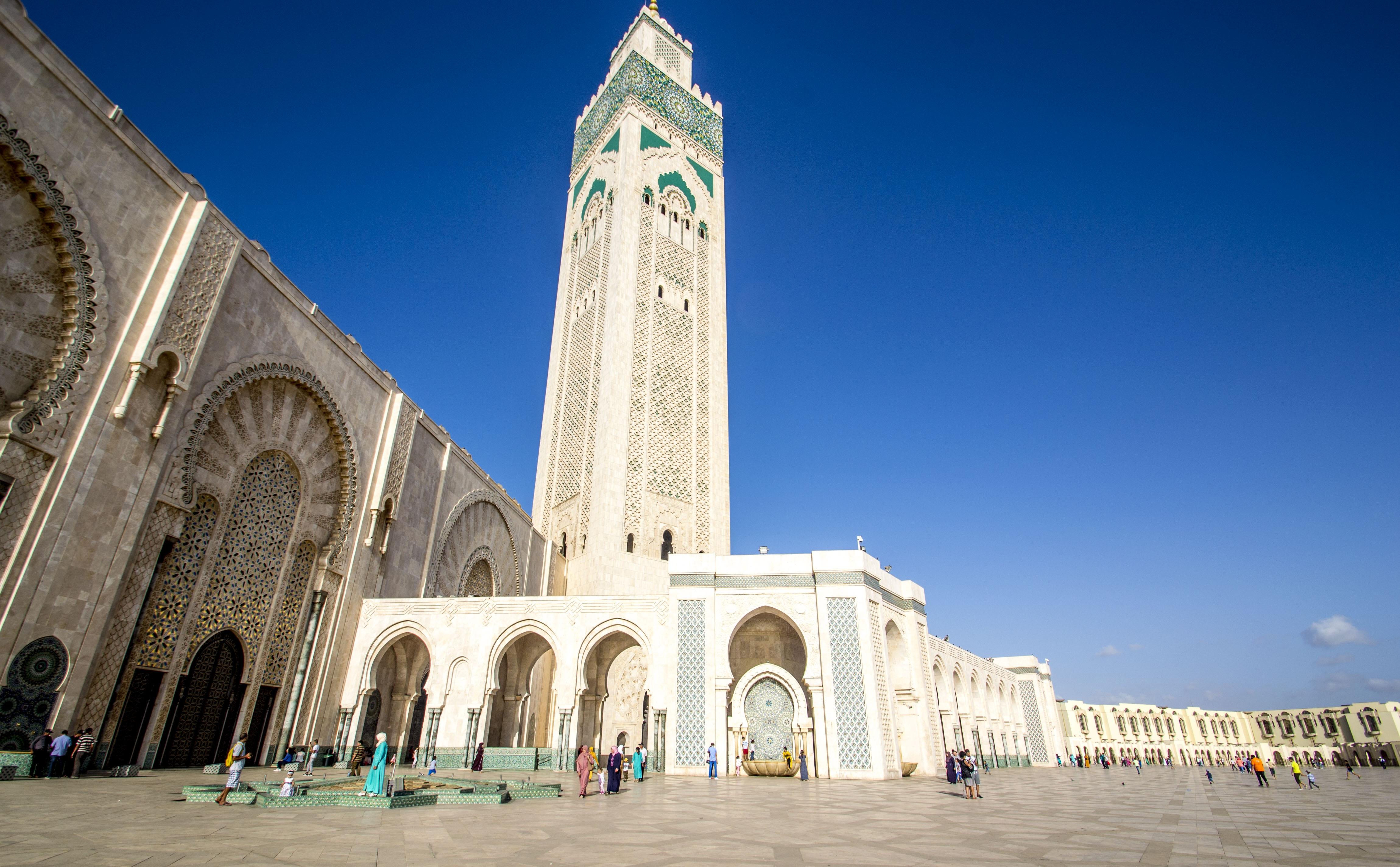Марокко мечеть фото создания