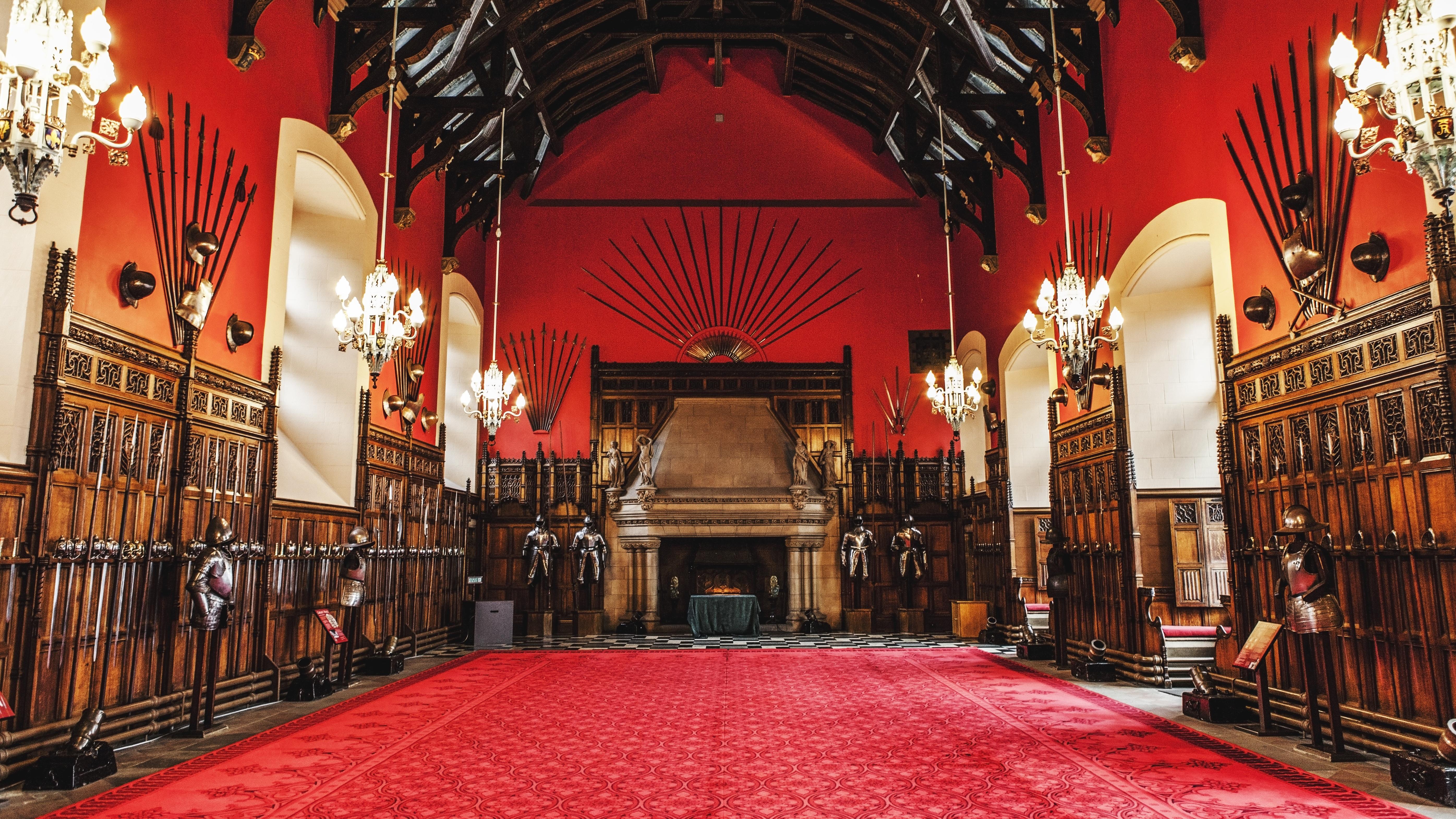 Gambar Bangunan Istana Merah Katedral Kapel Tempat