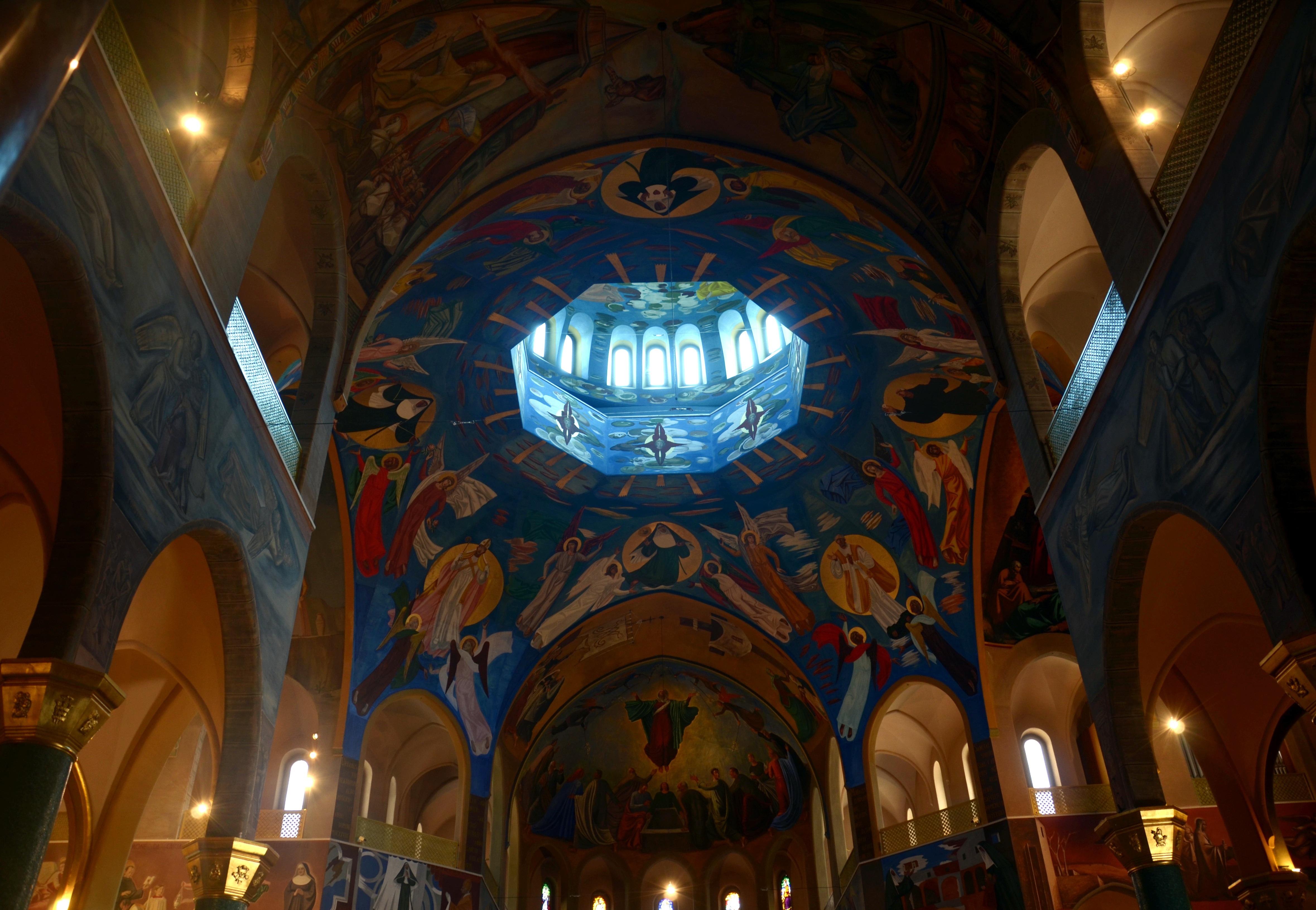 Fotograf Bina Fotograf Din Mavi Kilise Katedral Sapel