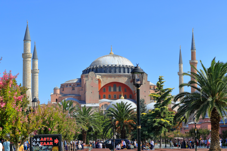 Free Images : building, plaza, landmark, church, cathedral, tourism, place of worship, turkey, istanbul, mosque, islam, minarets, ayasofya, greek orthodox, hagia sophia 5314x3543