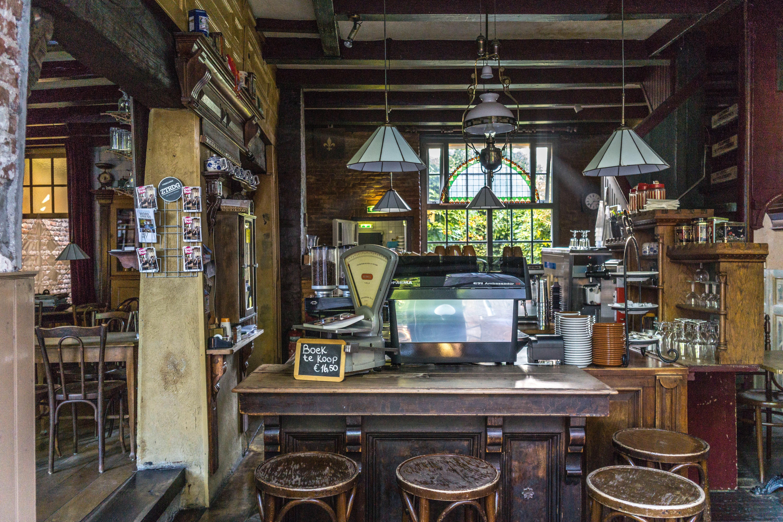 Kostenlose foto : Gebäude, Restaurant, Bar, Zimmer, Innenarchitektur ...