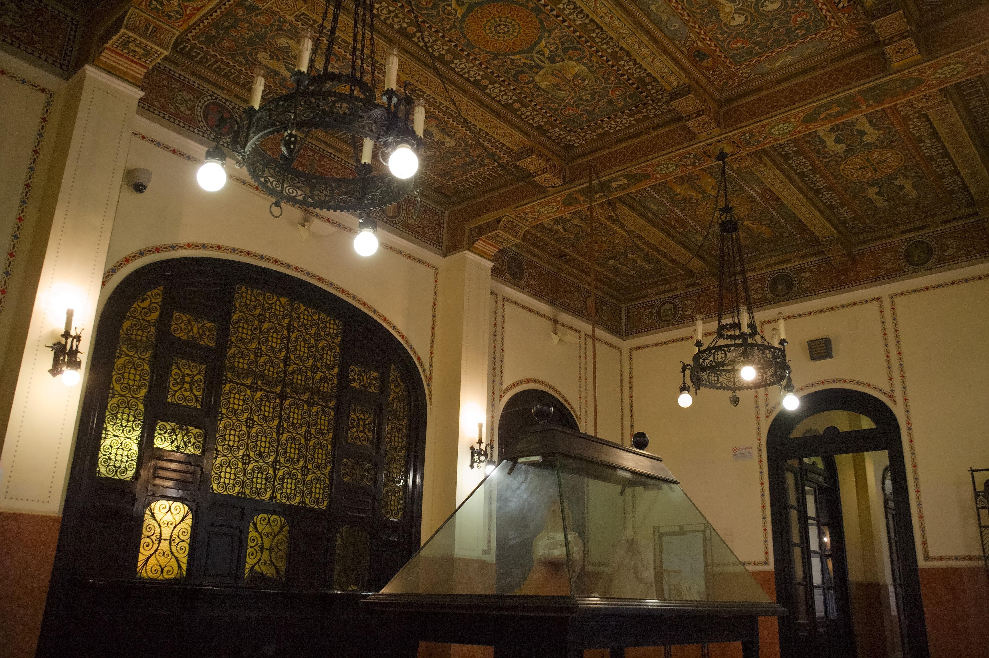 Images gratuites b timent restaurant plafond italie - Plafond de la chapelle sixtine description ...