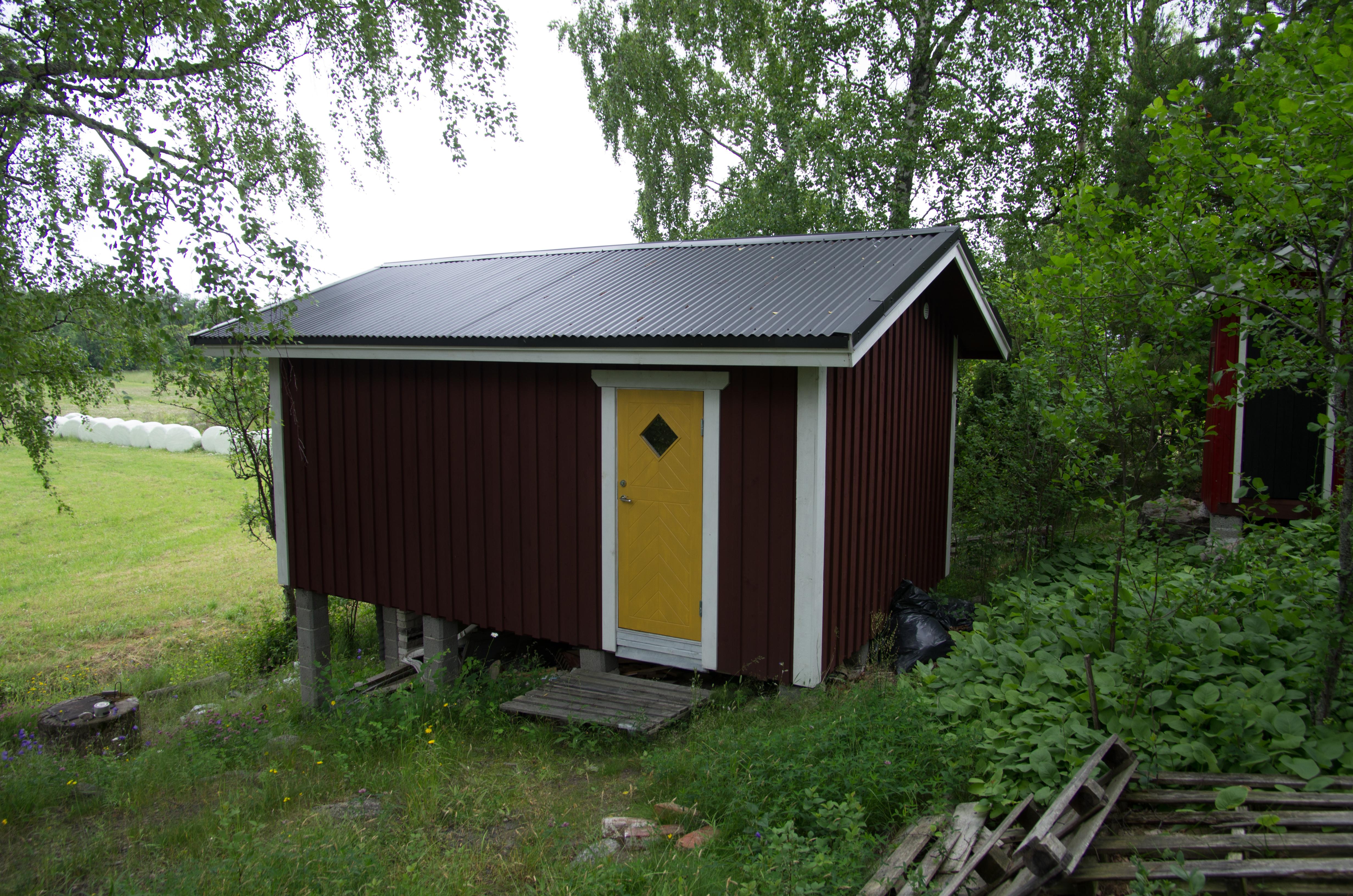 Alvorlig Bildet : bygning, skur, hytte, shack, Hagen, uthus, finland YW-62
