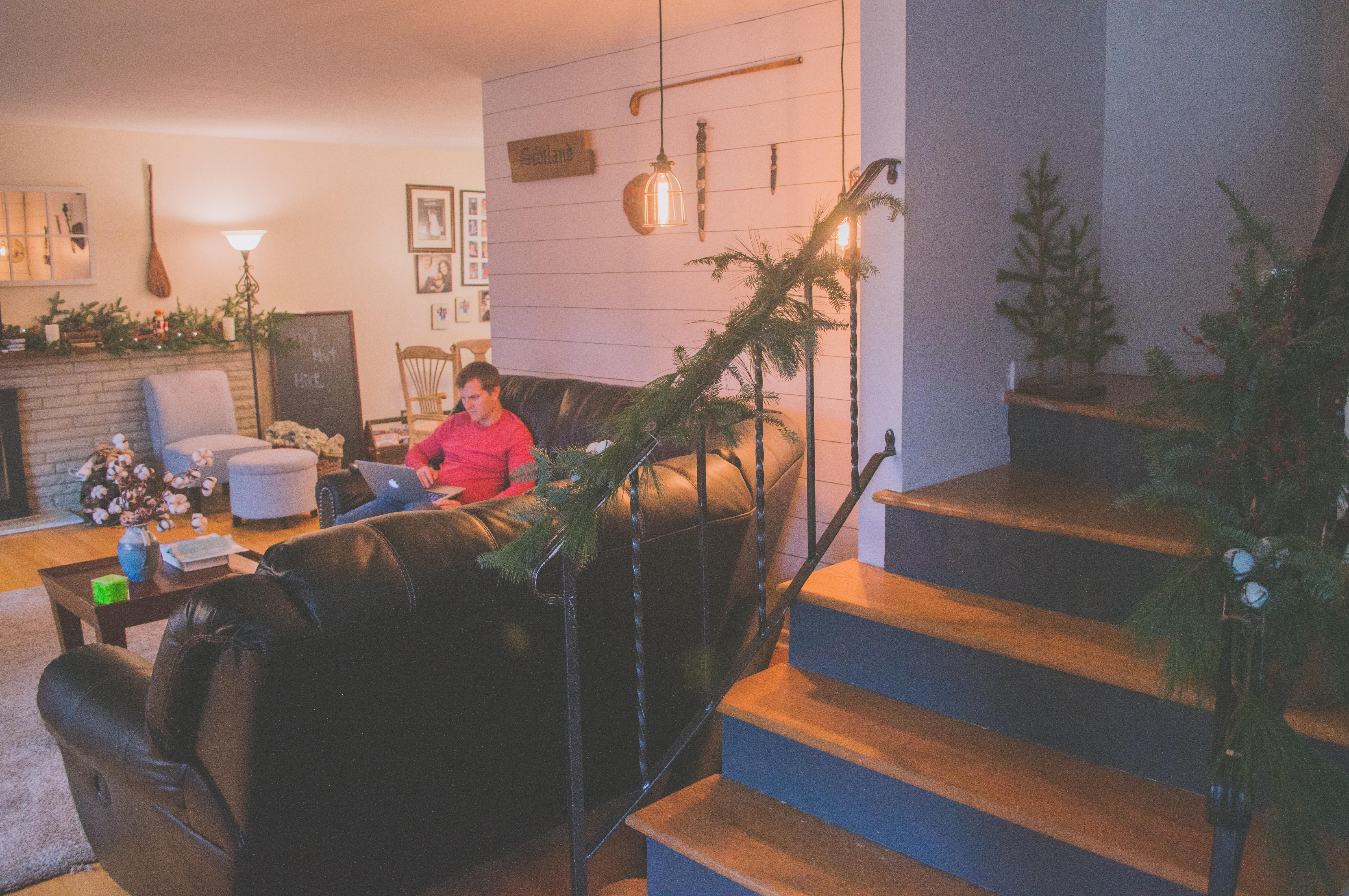 Sedie Decorate Per Natale : Immagini belle attività commerciale sedia natale computer