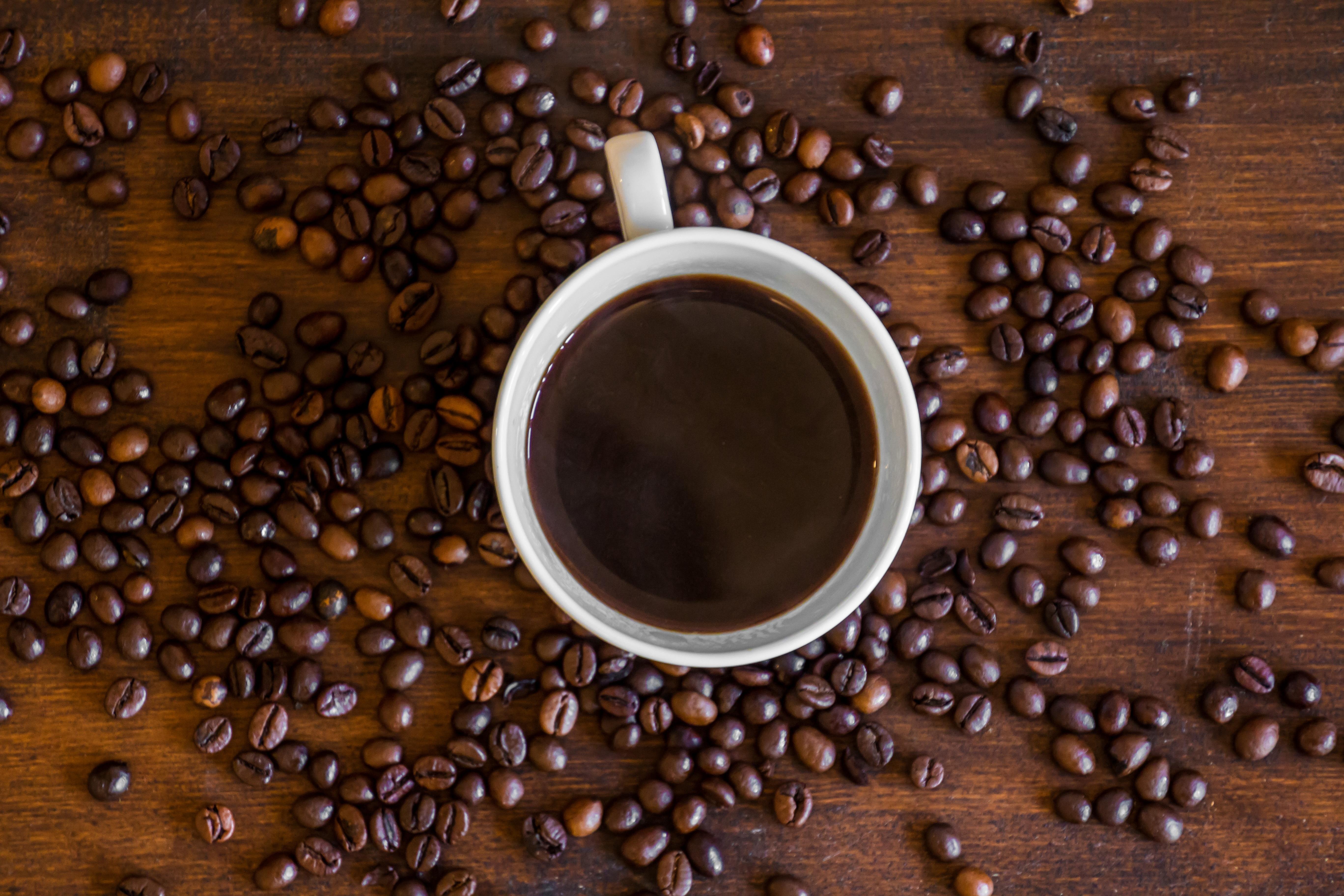 темный кофе картинки бег