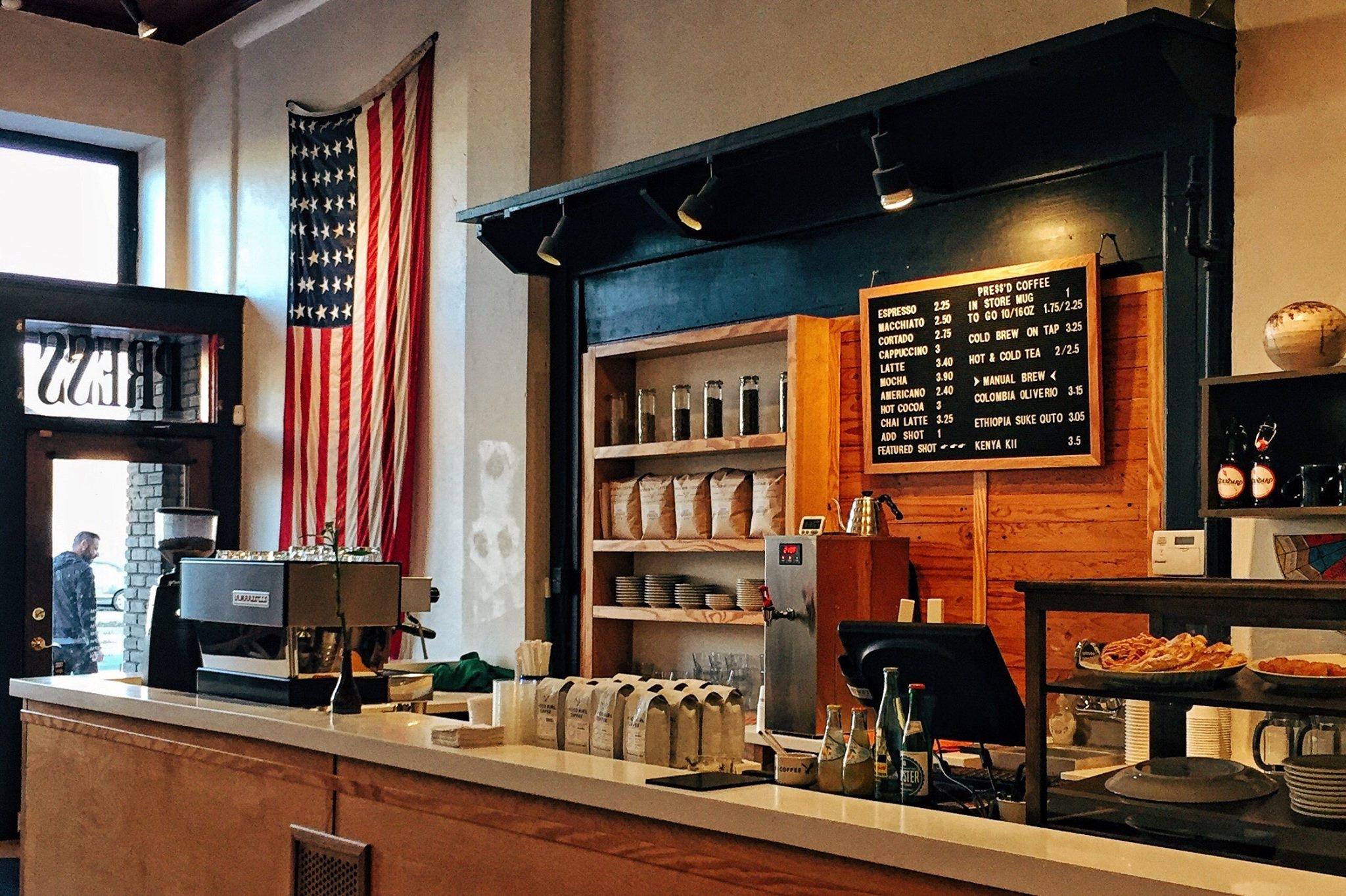 Cafe Coffee Restaurant Home Bar Counter Shop Flag Living Room Interior Design Cabinetry