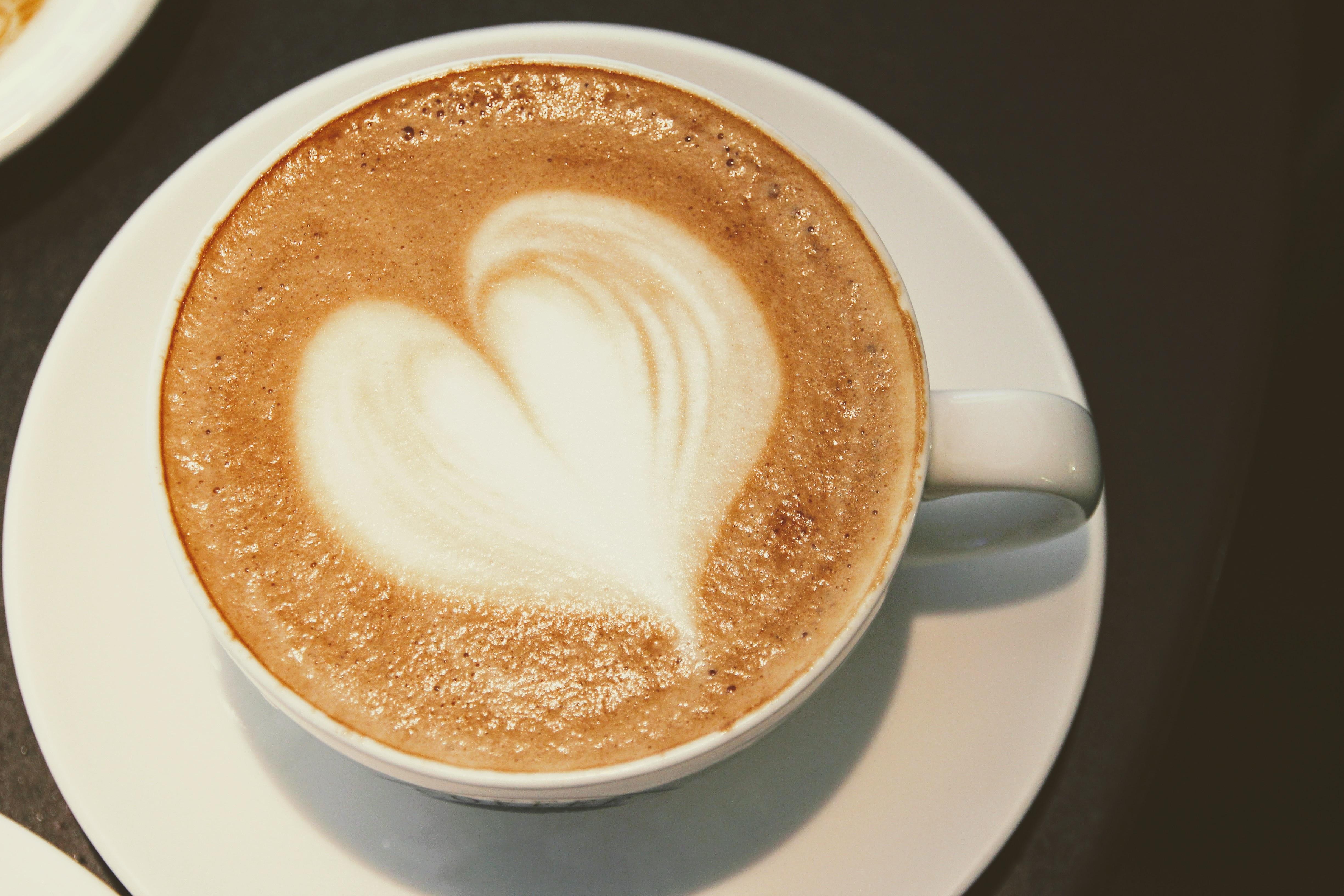 Images Gratuites Th 233 Coupe Latt 233 Cappuccino Amour C Ur Repas Boisson D 233 Jeuner