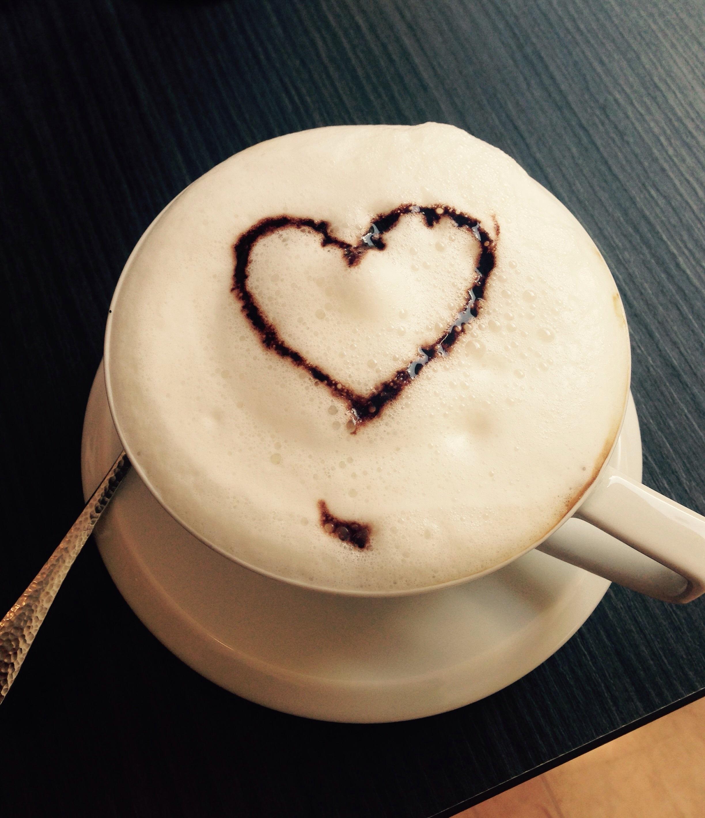 взяли картинки чашечка кофе сердцем хай