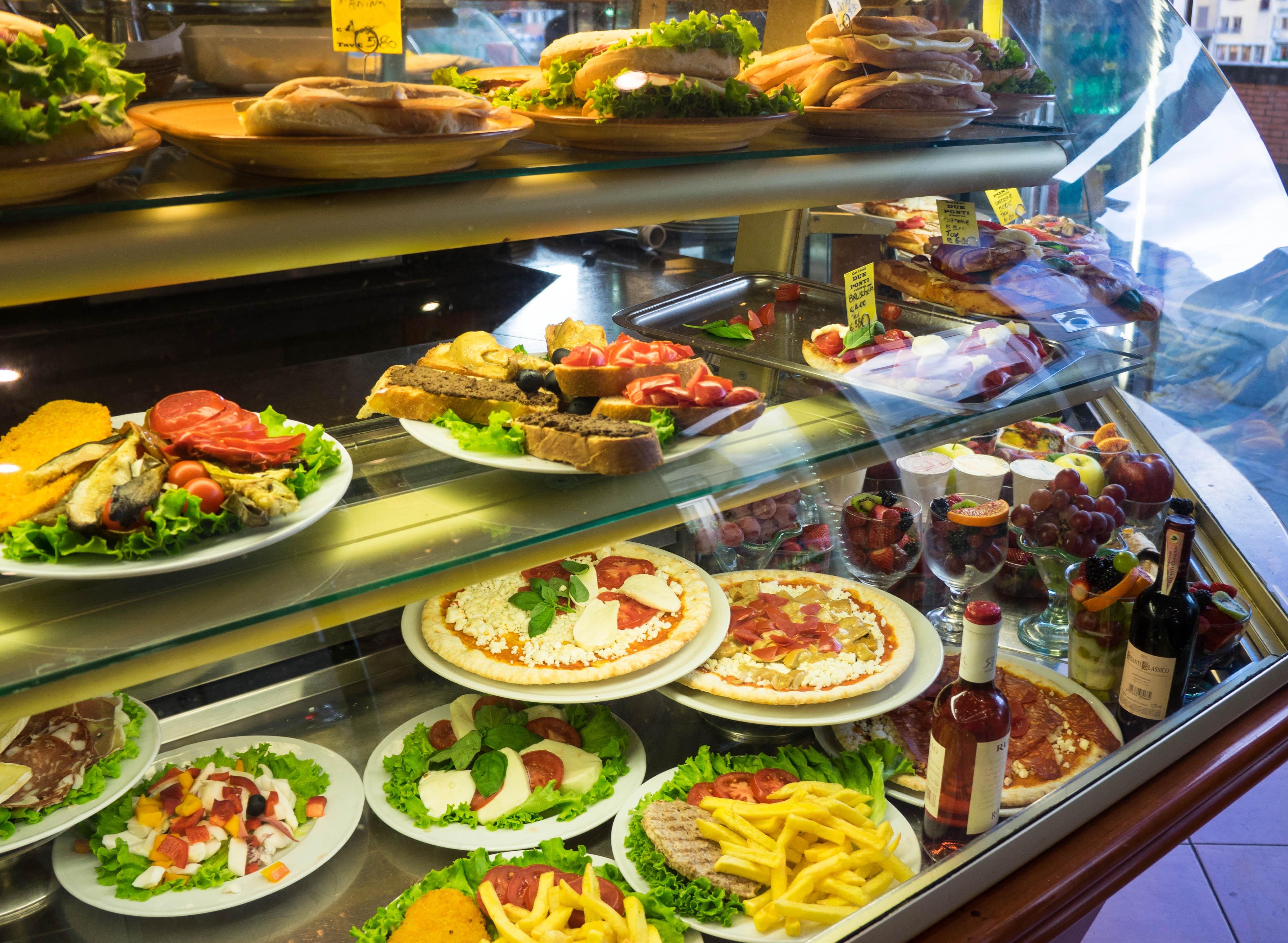 Еда и кухня — Быстрый и вкусный ланч