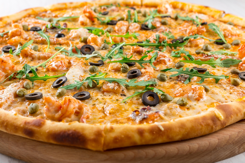 фото пиццы крупным планом дизайна гостиной