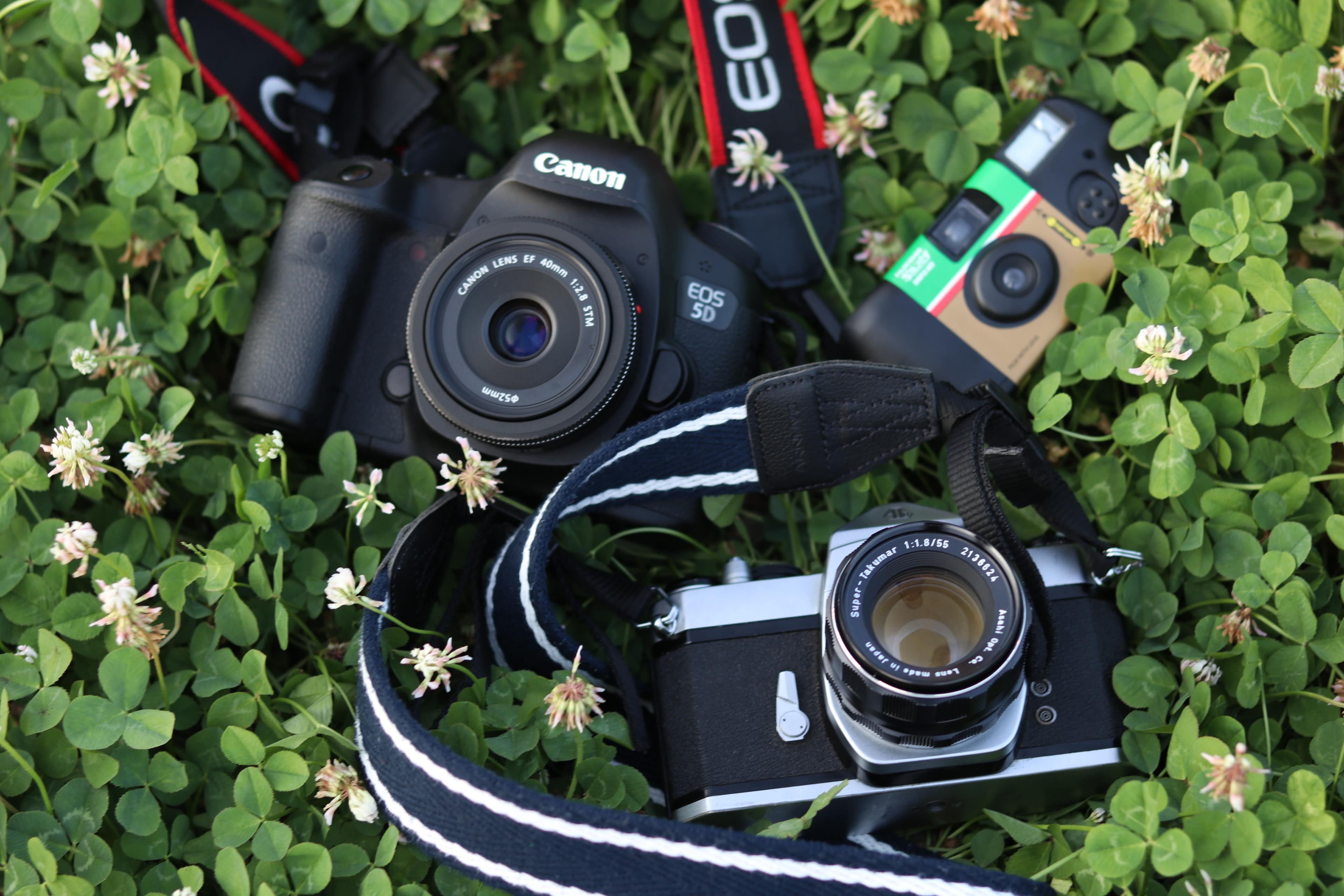 Приклад для цифрового фотоаппарата мастера наносят