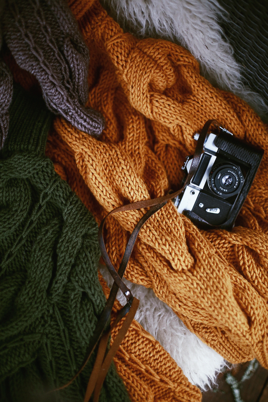 661c6bc6428947 camera kleding stof breien gebreide artikelen trui
