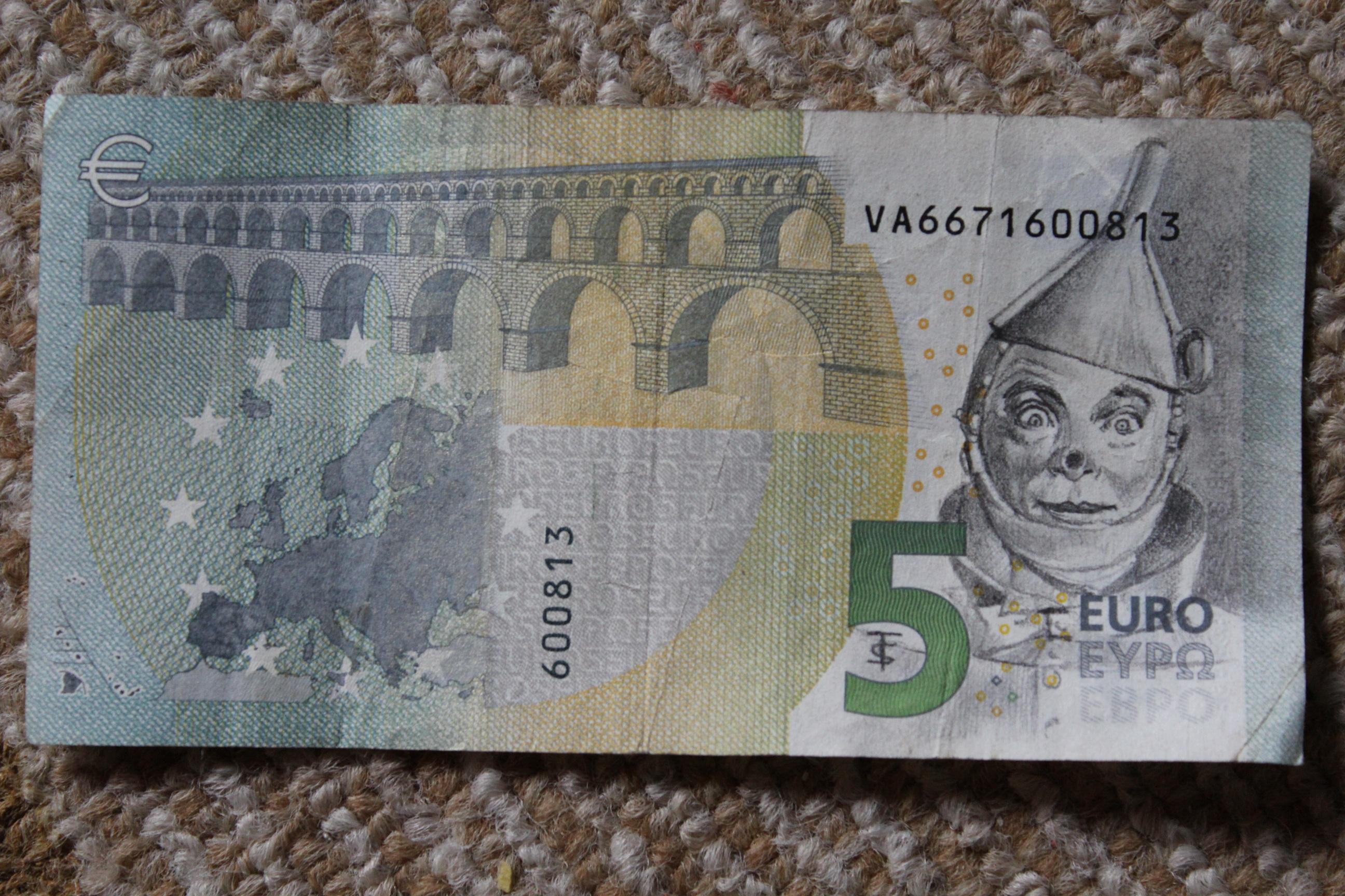 billet de banque dans un reve