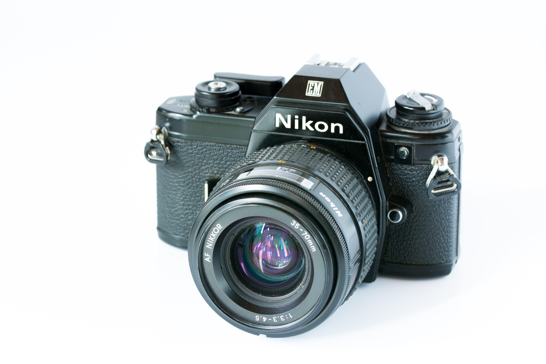 Fotos gratis foto c mara r flex c mara digital 35mm em fotograf a disparar lente de la - Foto in camera ...