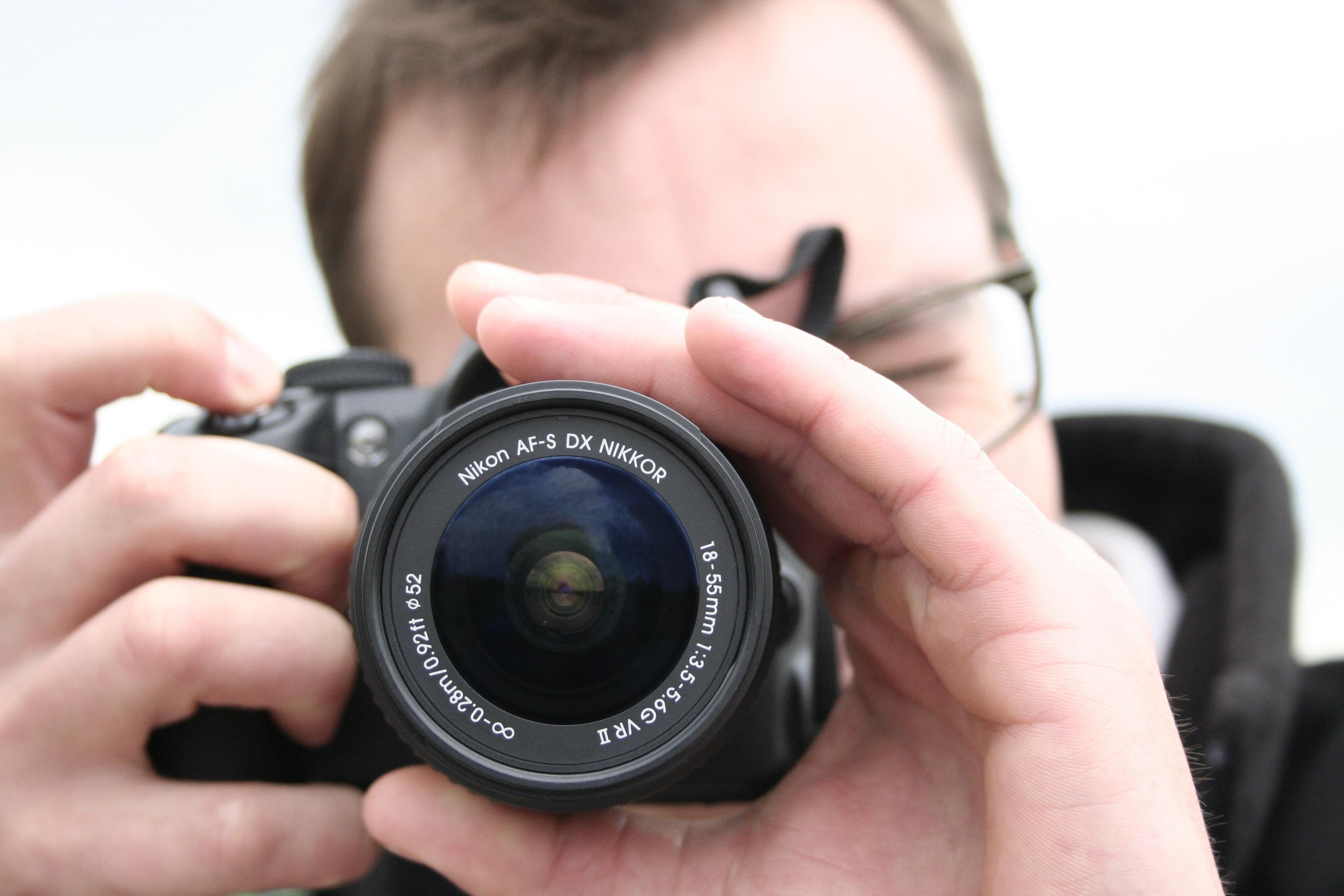 Free Images : photographer, dslr, nikon, taking photo