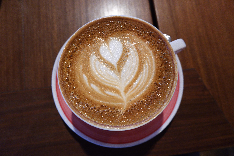Gambar : cappuccino, macchiato caff, putih datar, Kafe au ...