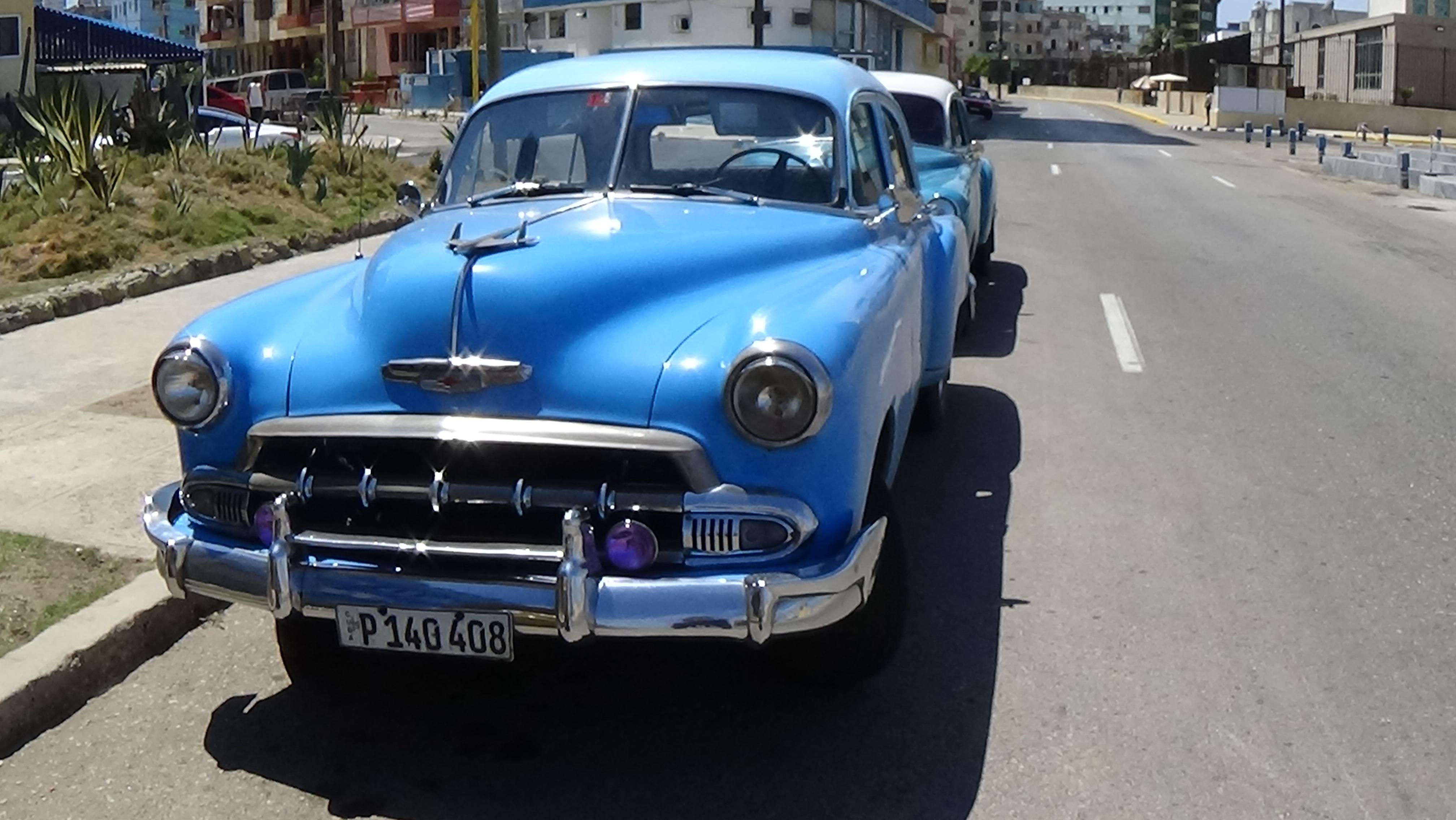 Free Images : motor vehicle, vintage car, cuba, sedan, chevrolet ...