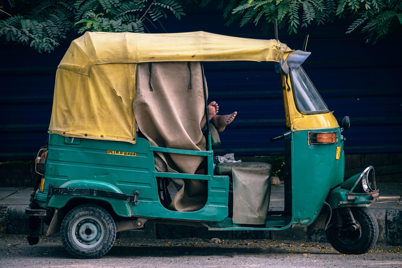 Golf Cart Van on delivery cart, gem food truck cart, street cart, van pool, pushing grocery cart, crazy cart,