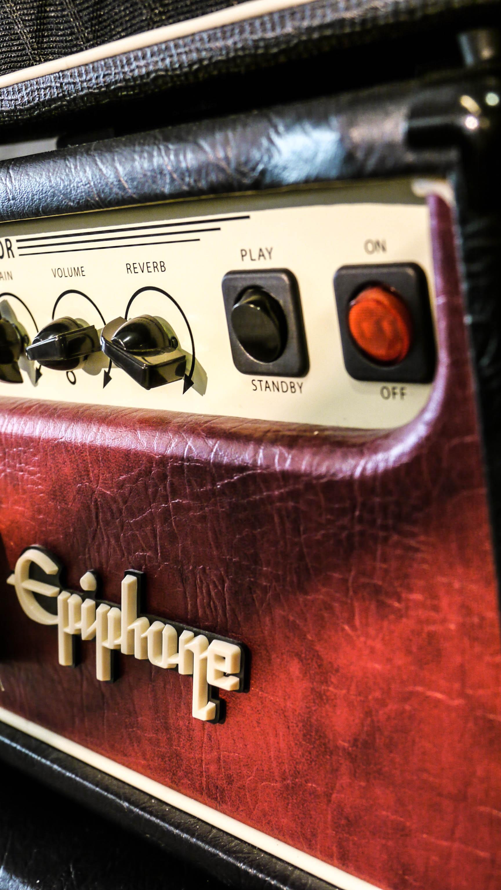 Free Images : car, guitar, red, amp, electronics, epiphone ...