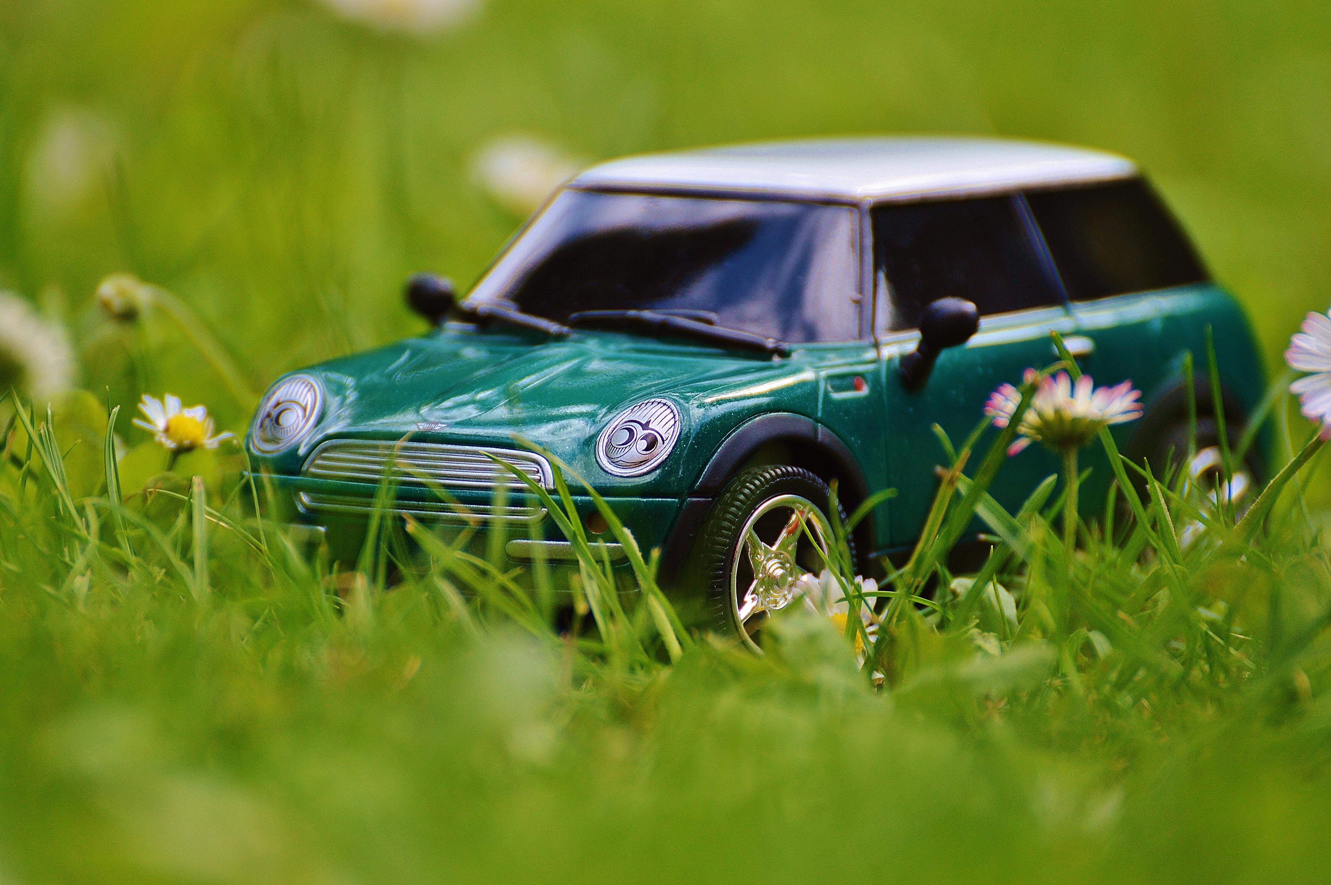 Free Images Model Green Auto Mini Cooper Land Vehicle