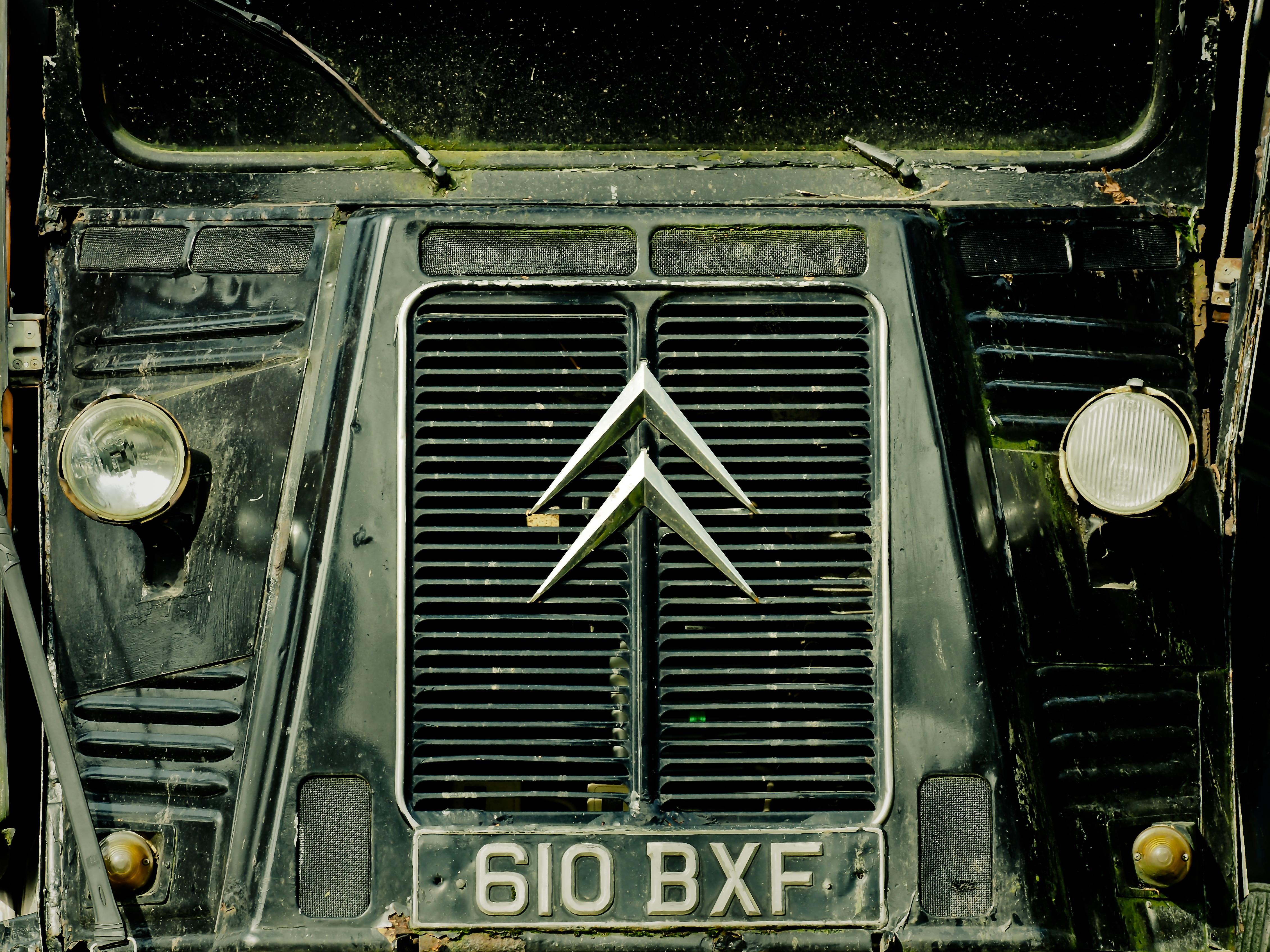 Free Images : france, vehicle, auto, old car, oldtimer, transporter ...