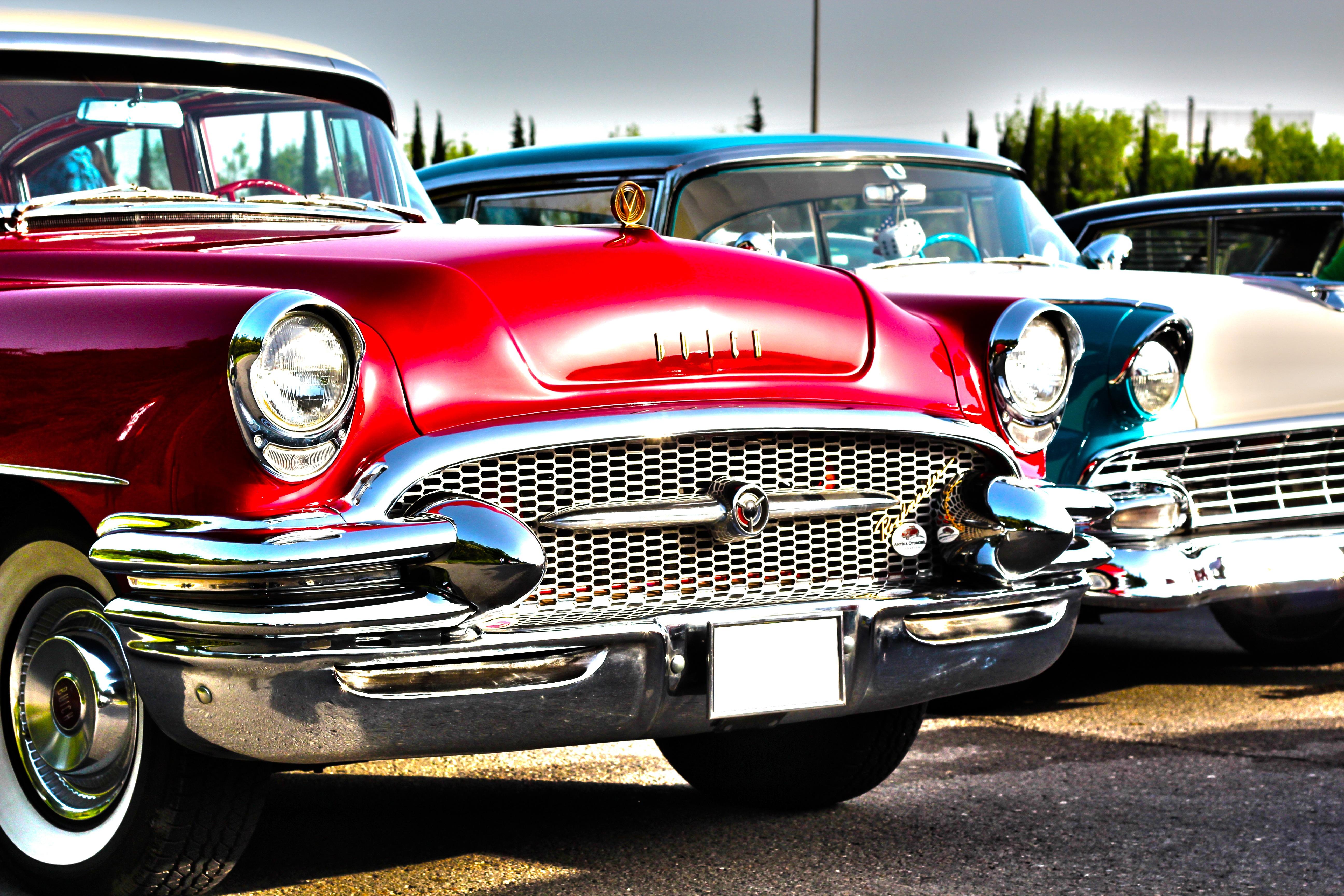 Free Images : old, red, motor vehicle, vintage car, hdr, cars ...